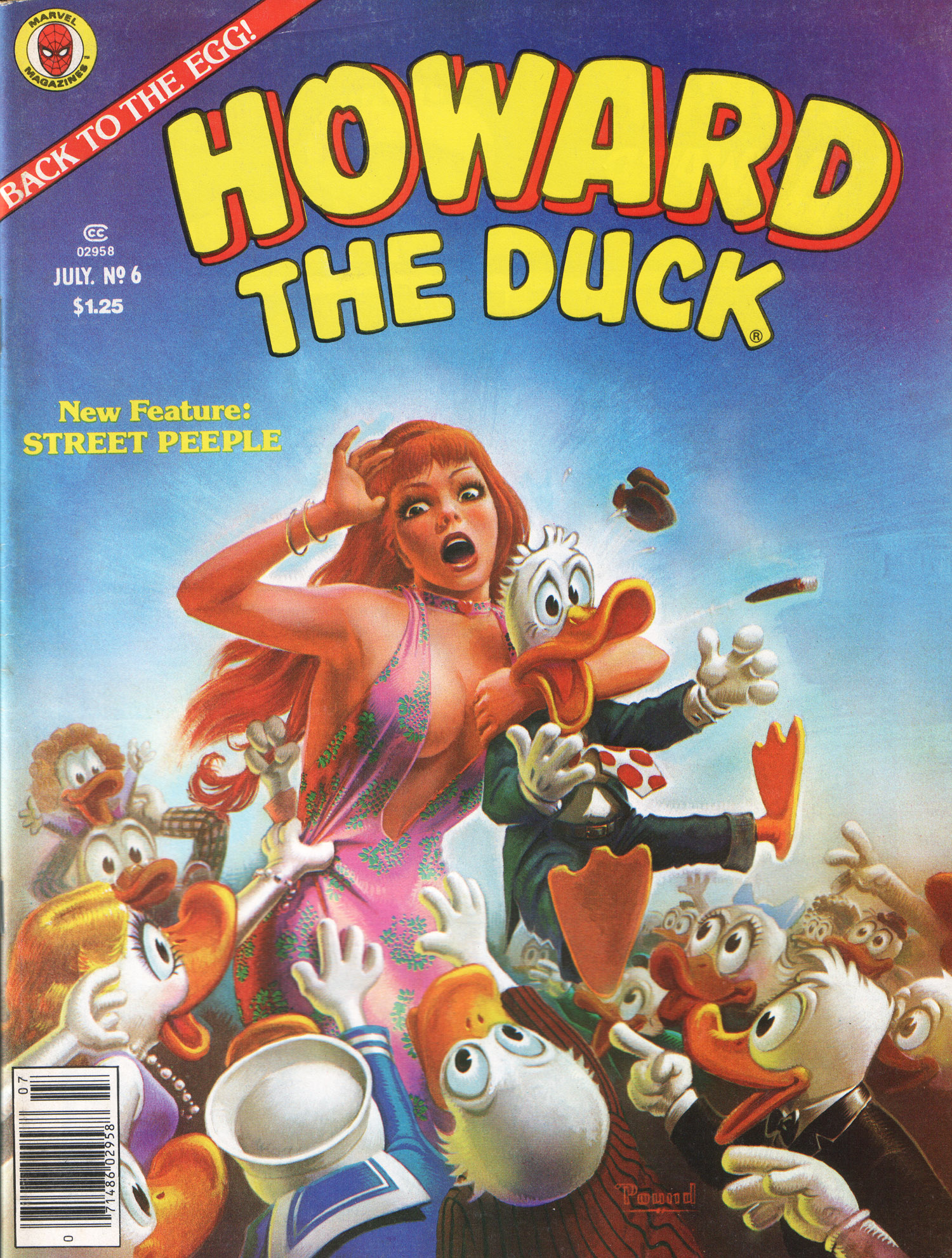 Howard the Duck (1979) 6 Page 1