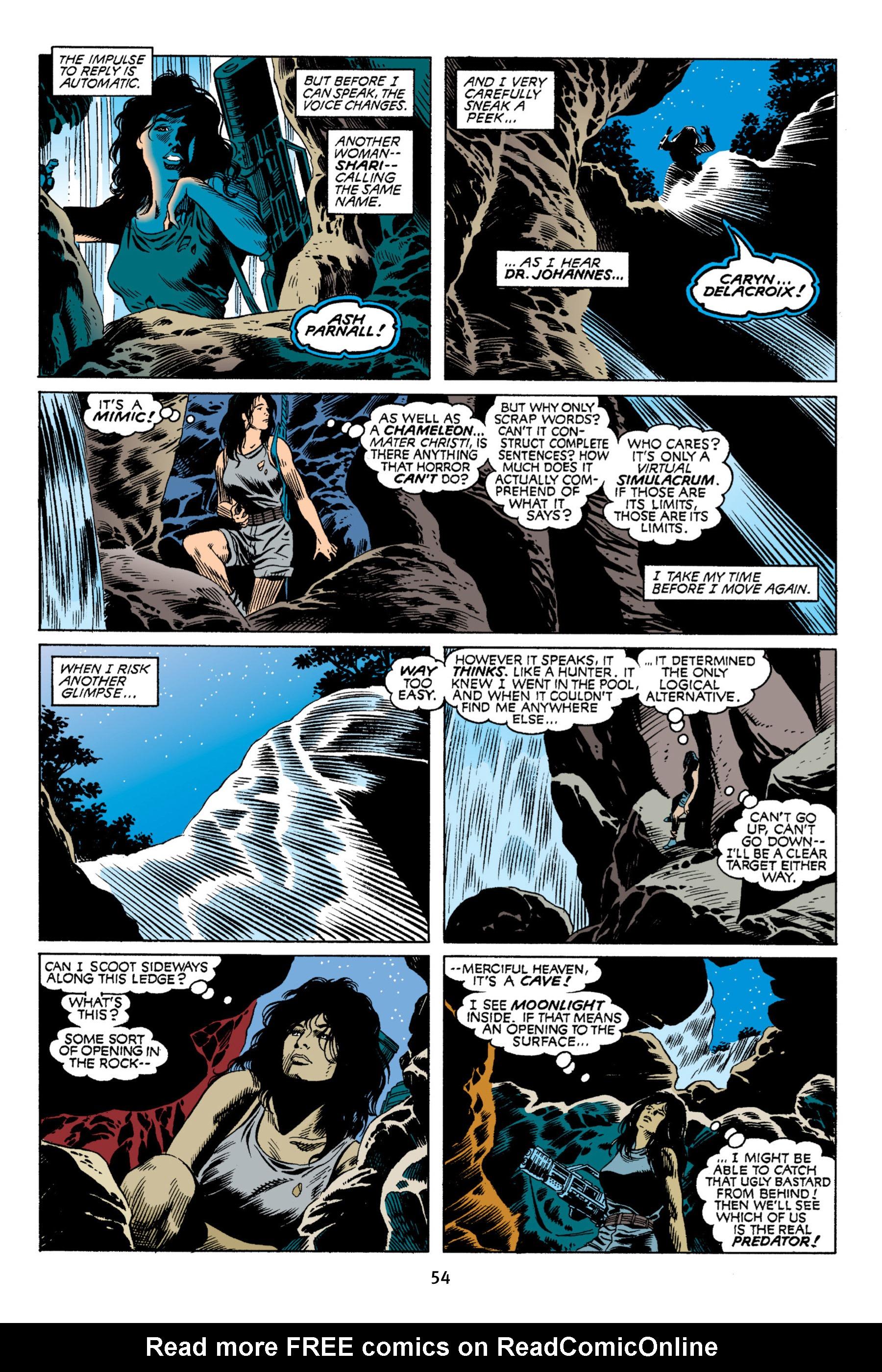 Read online Aliens vs. Predator Omnibus comic -  Issue # _TPB 2 Part 1 - 54