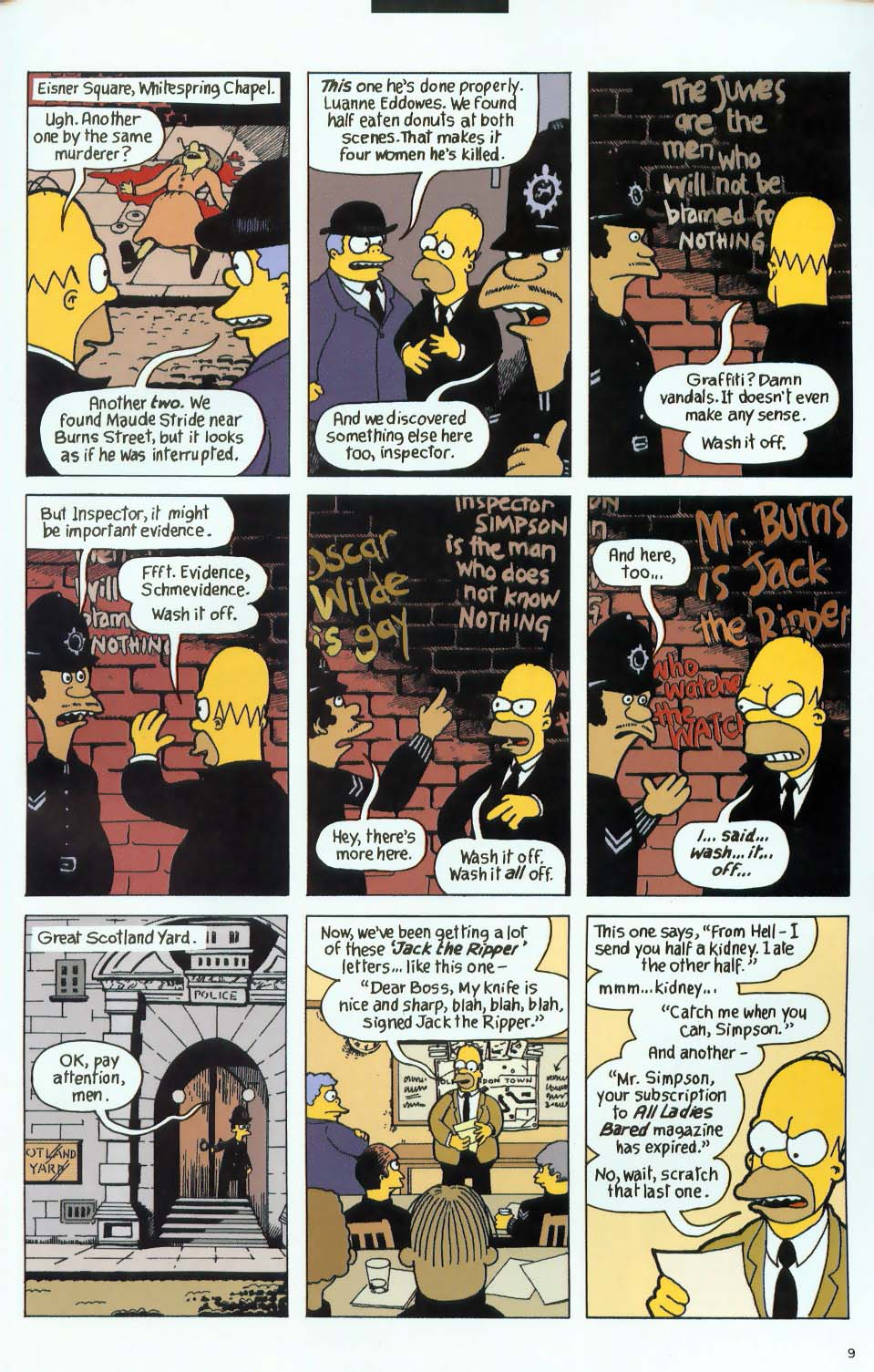 Read online Treehouse of Horror comic -  Issue #9 - 41