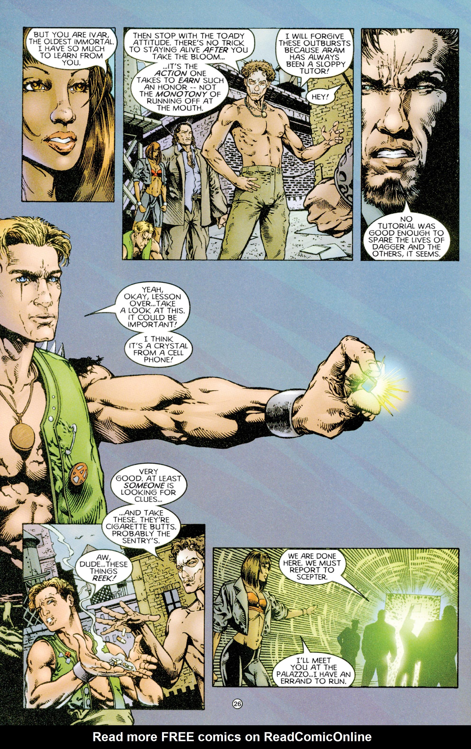 Read online Eternal Warriors comic -  Issue # Issue Time & Treachery - 25