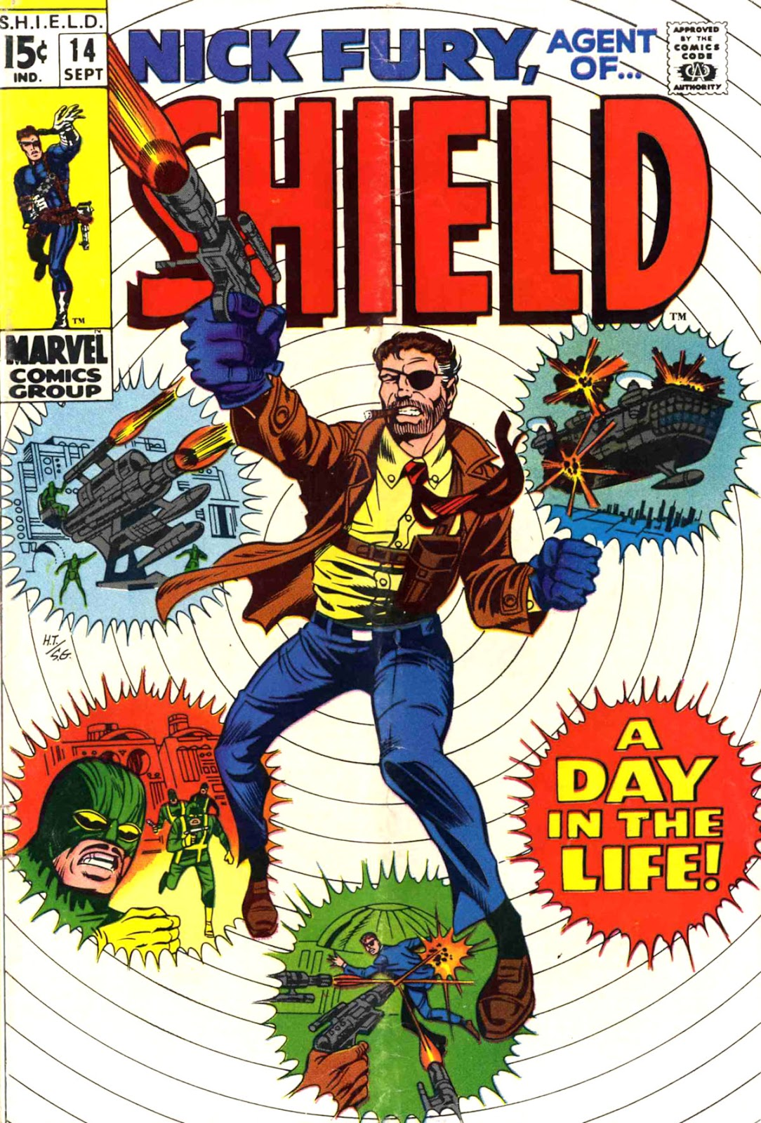 Nick Fury, Agent of SHIELD 14 Page 1