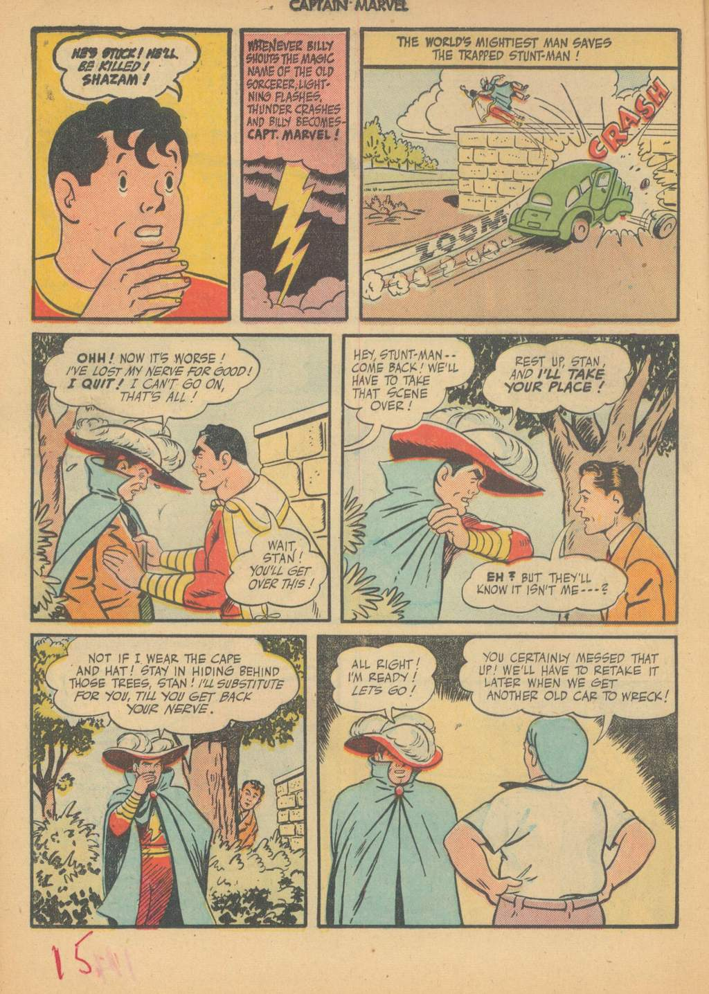 Captain Marvel Adventures issue 63 - Page 18