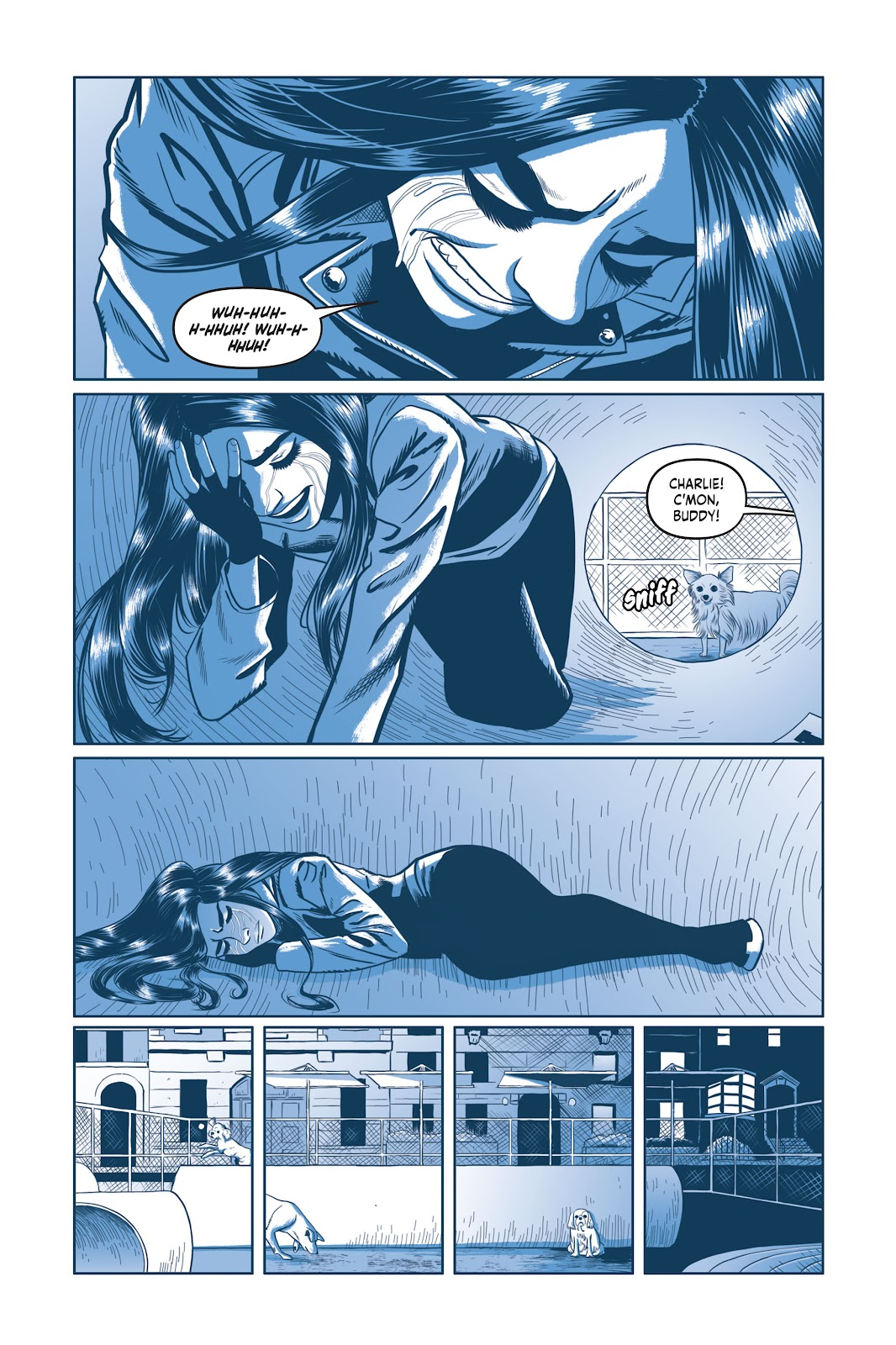 Read online Under the Moon: A Catwoman Tale comic -  Issue # TPB (Part 2) - 91