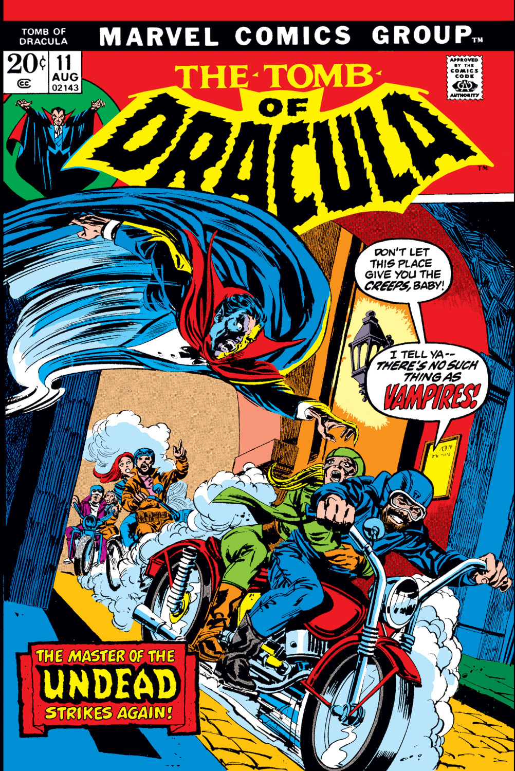 Tomb of Dracula (1972) issue 11 - Page 1