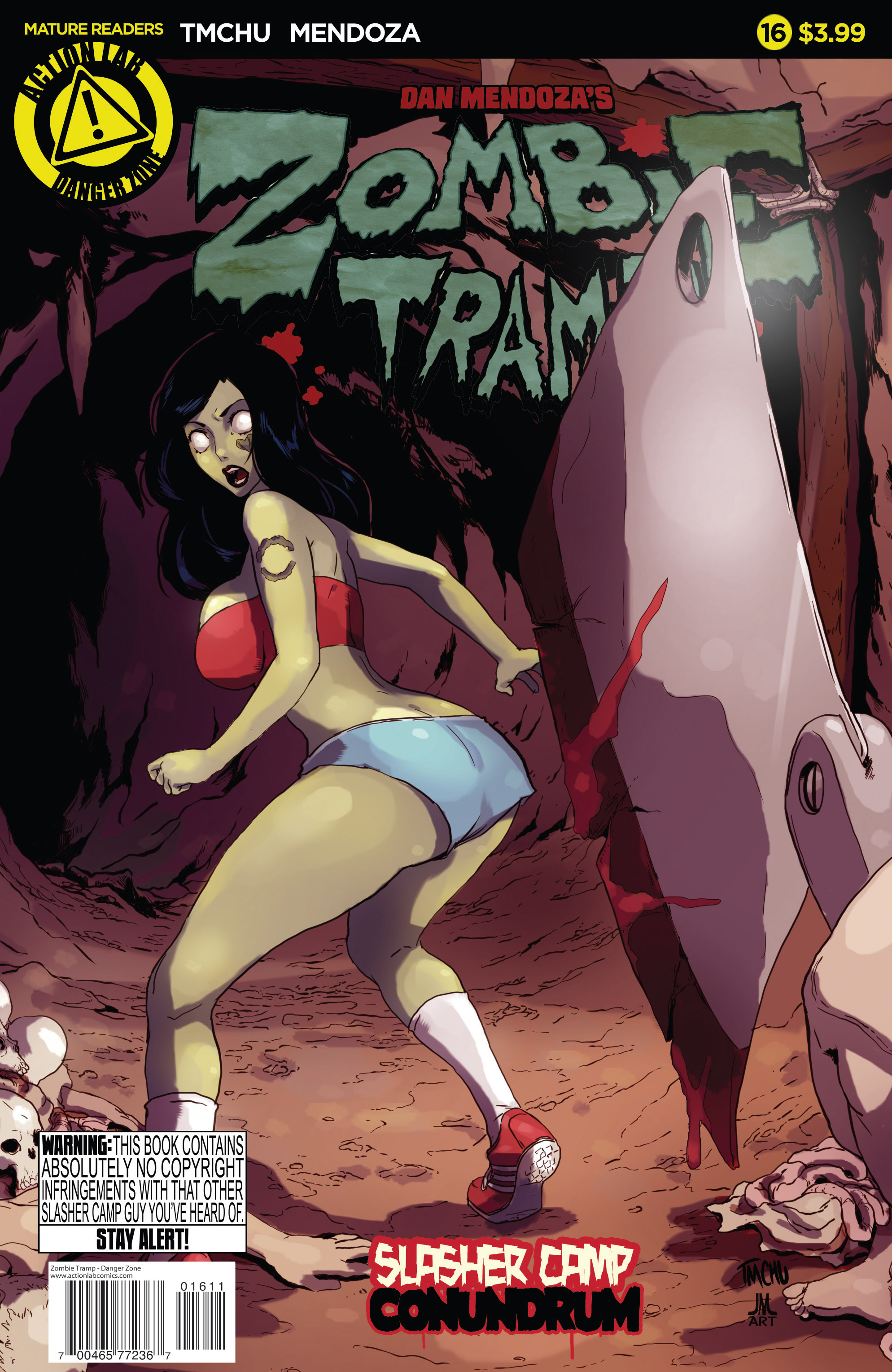 Zombie Tramp (2014) 16 Page 1