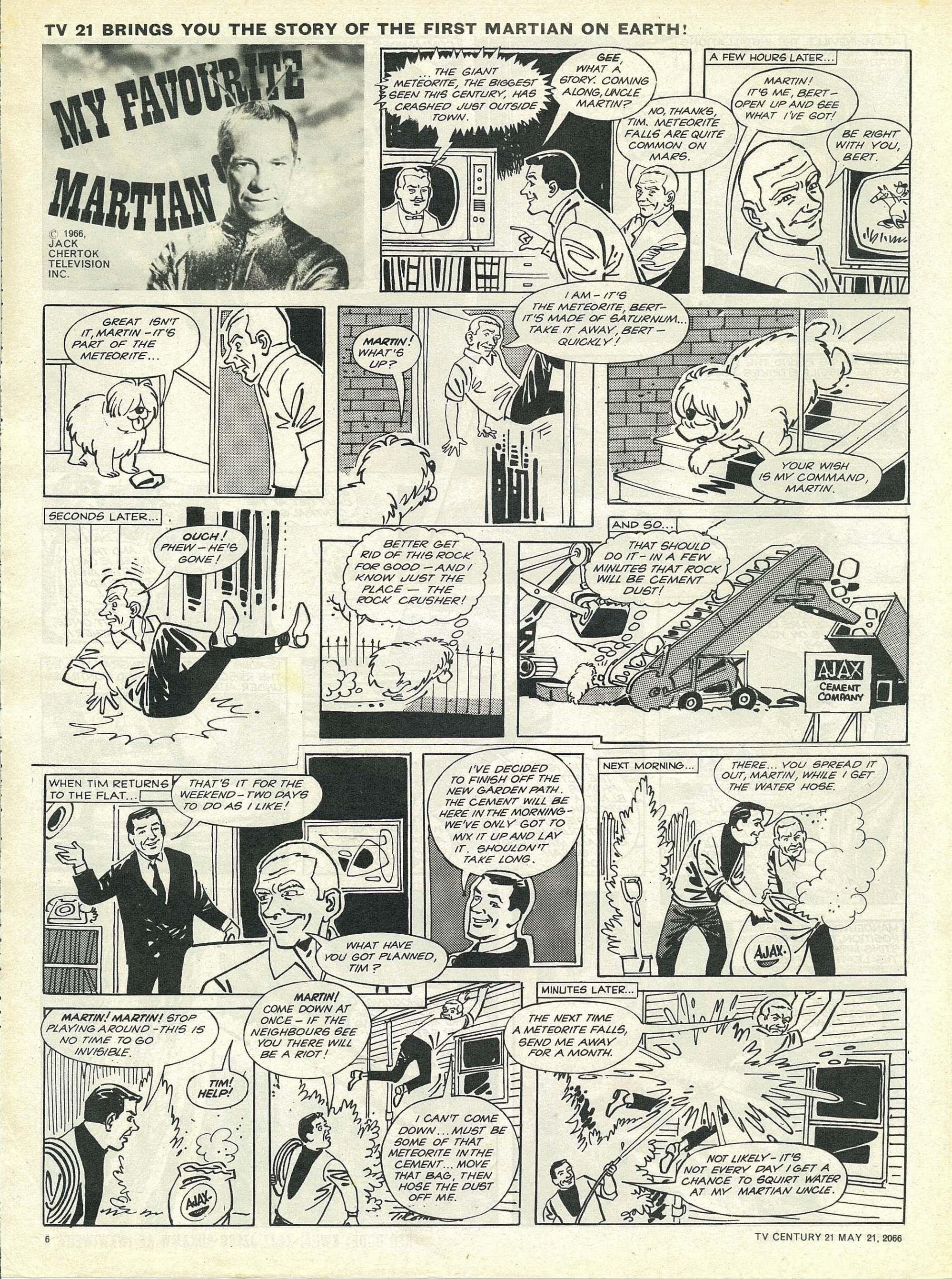 Read online TV Century 21 (TV 21) comic -  Issue #70 - 6