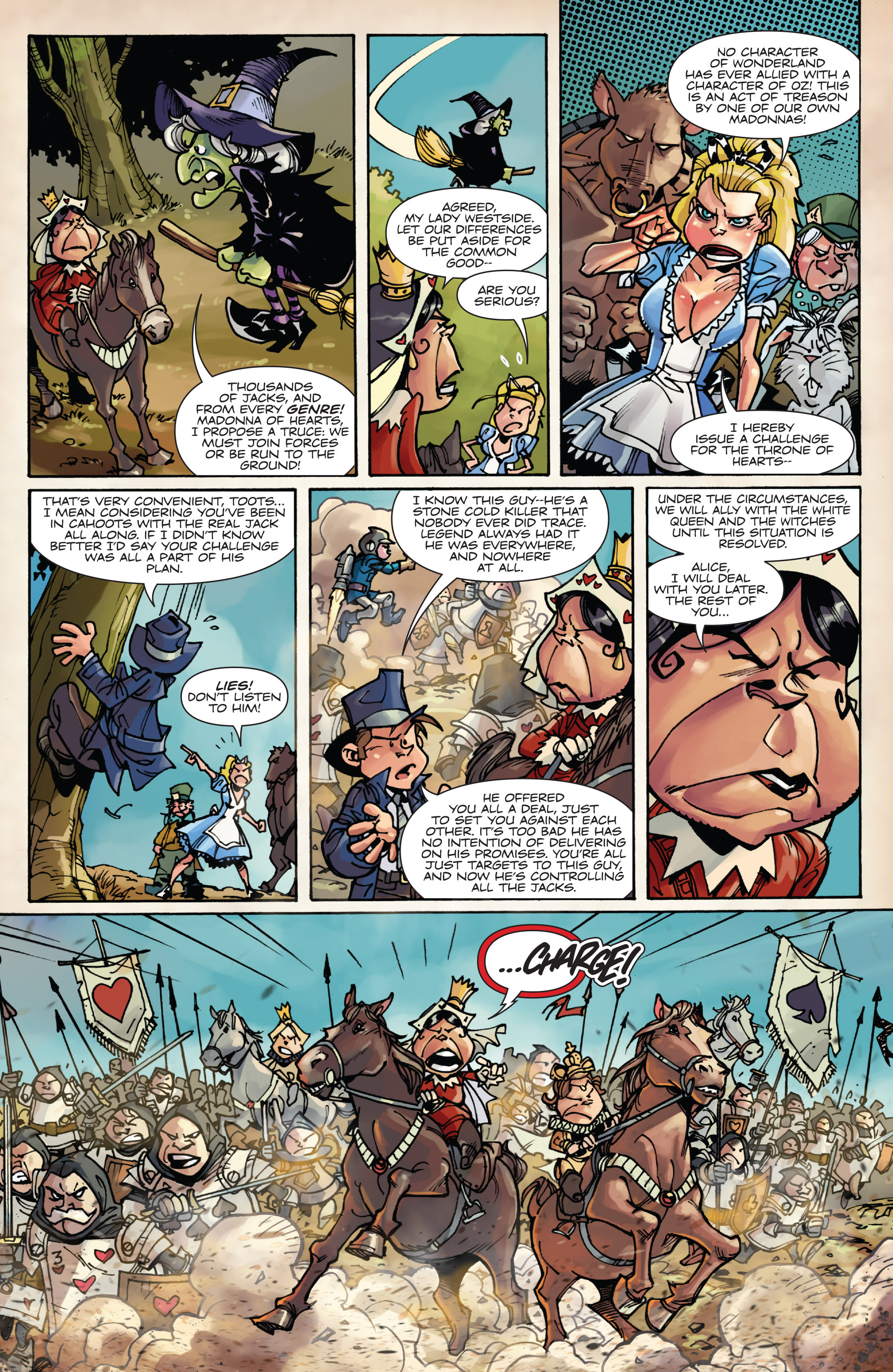 Read online Fiction Squad comic -  Issue #6 - 6