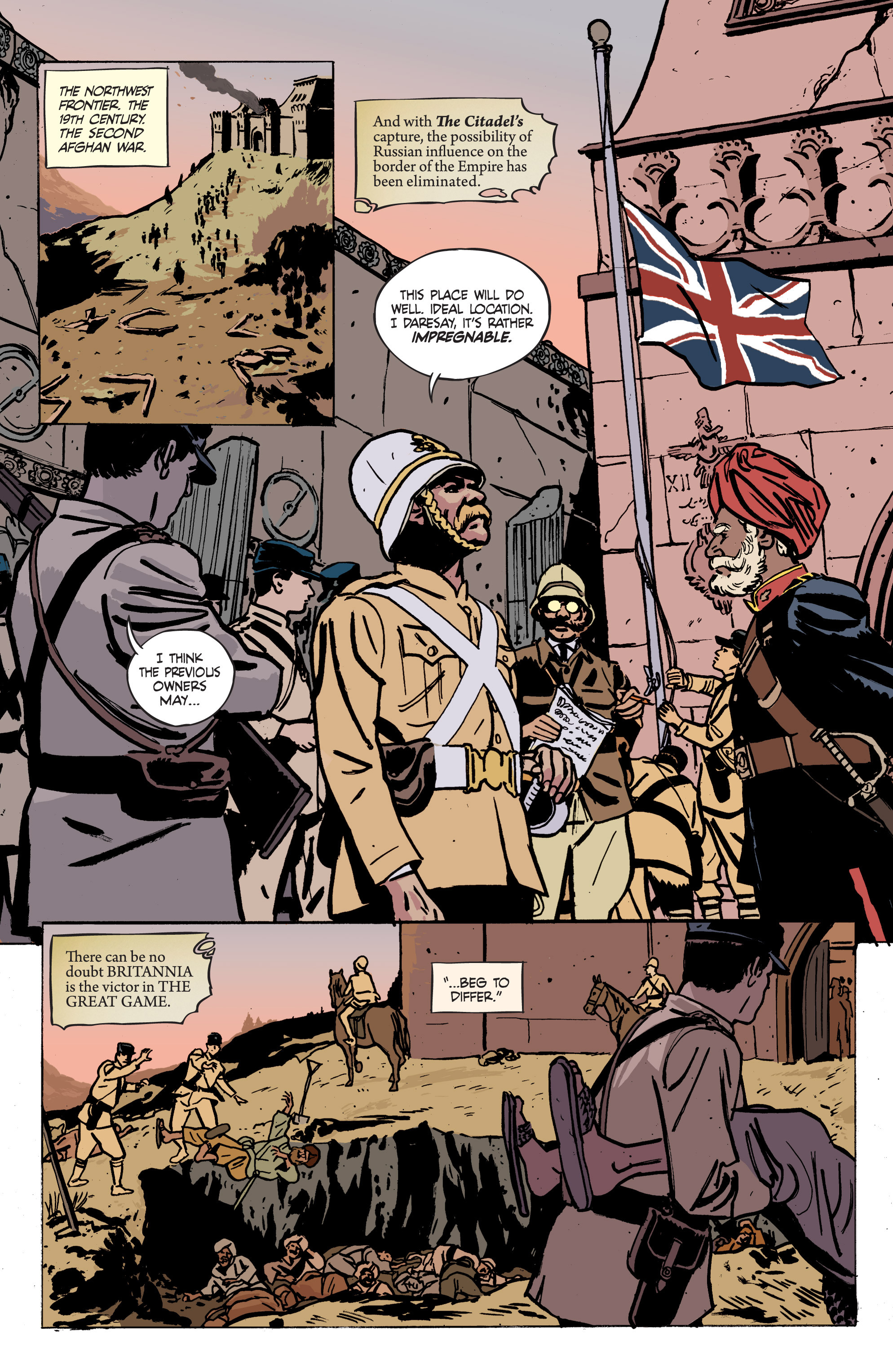 Read online Graveyard of Empires comic -  Issue # TPB - 95
