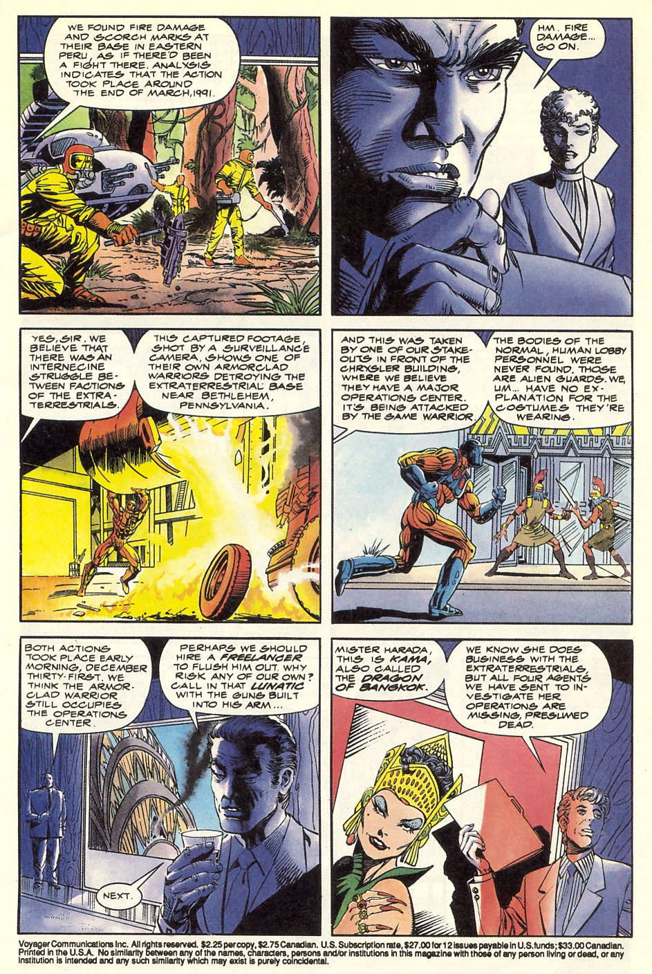 Read online Solar, Man of the Atom comic -  Issue #8 - 5