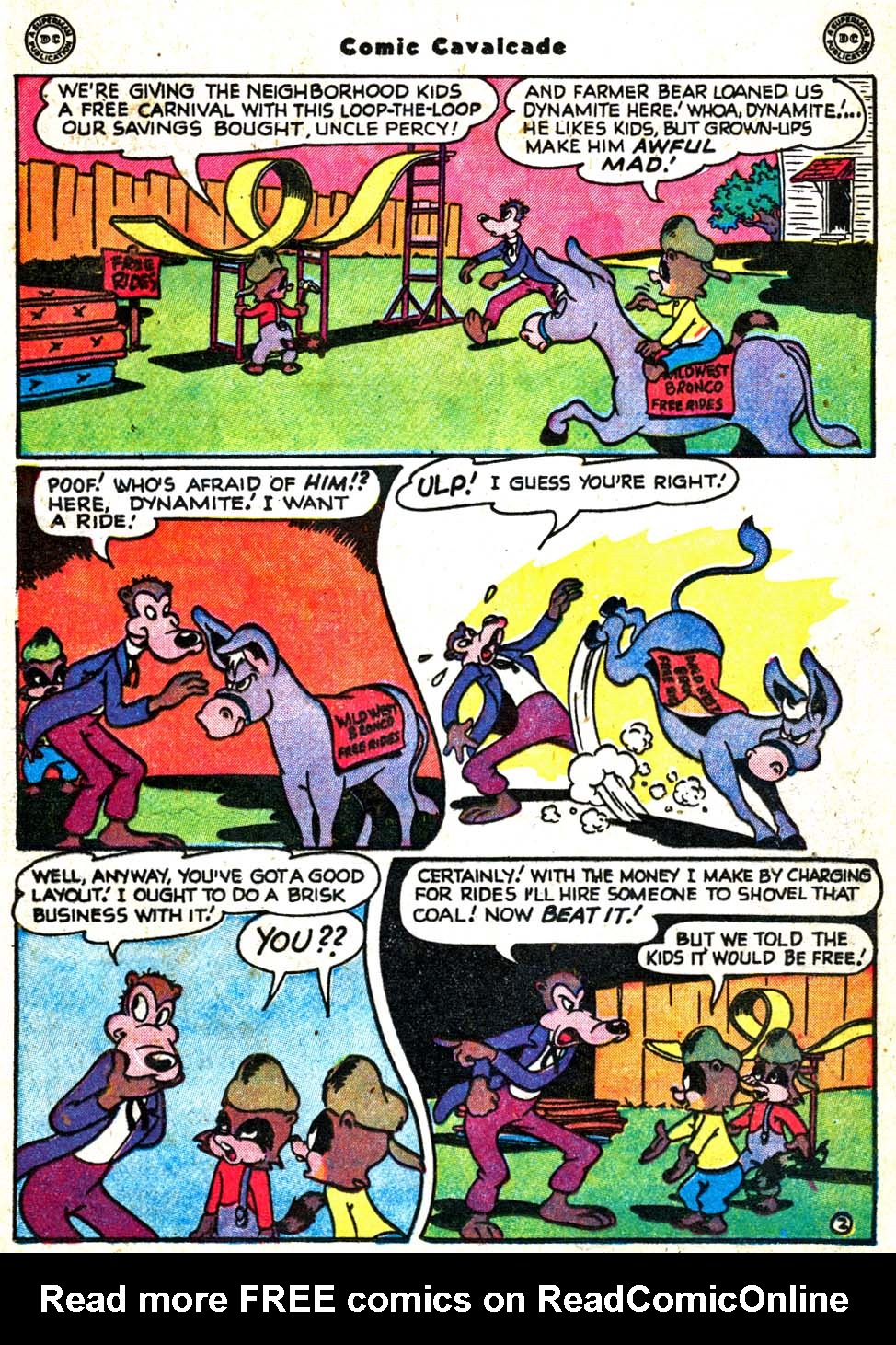 Comic Cavalcade issue 31 - Page 19