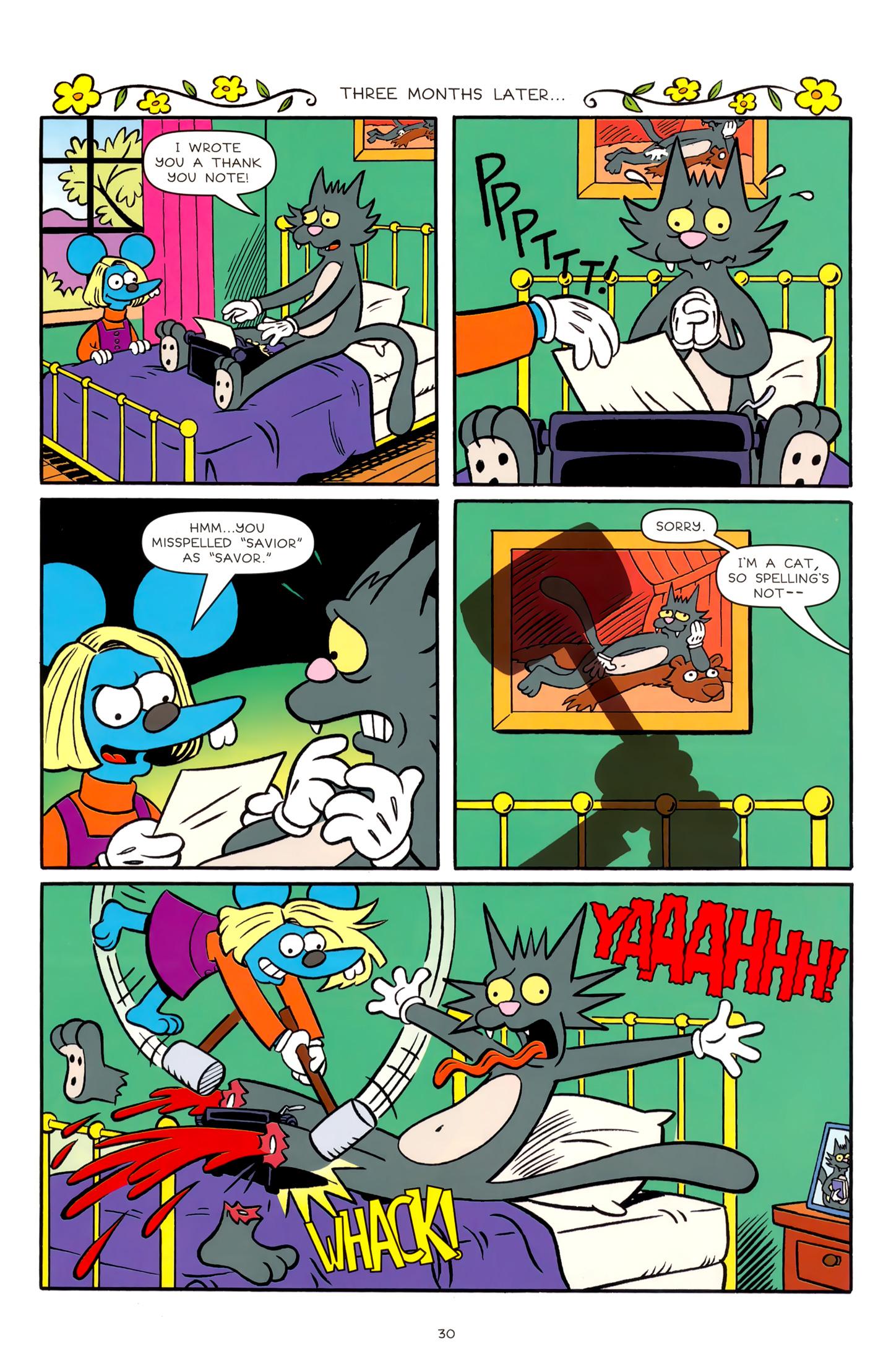 Read online Simpsons Comics comic -  Issue #179 - 25