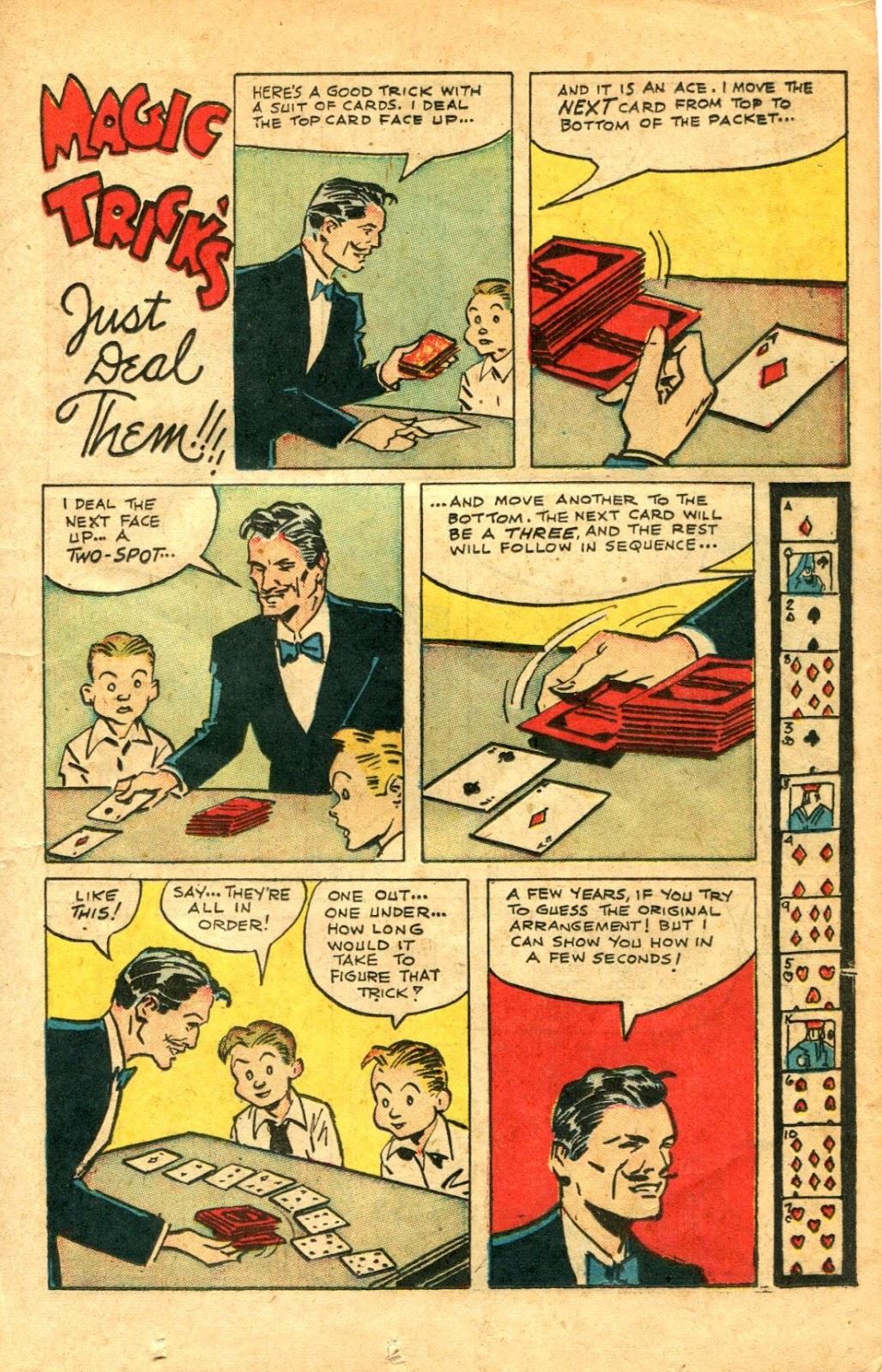 Read online Super-Magician Comics comic -  Issue #48 - 17
