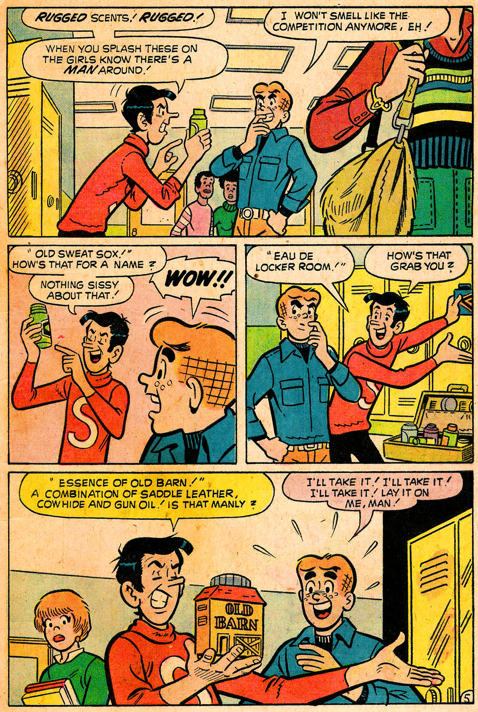 Read online Archie's Girls Betty and Veronica comic -  Issue #222 - 7