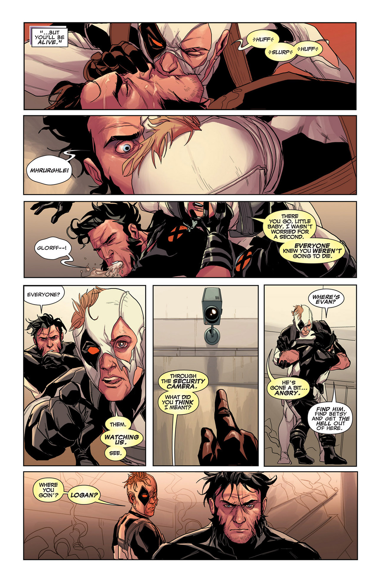 Read online Uncanny X-Force (2010) comic -  Issue #34 - 11