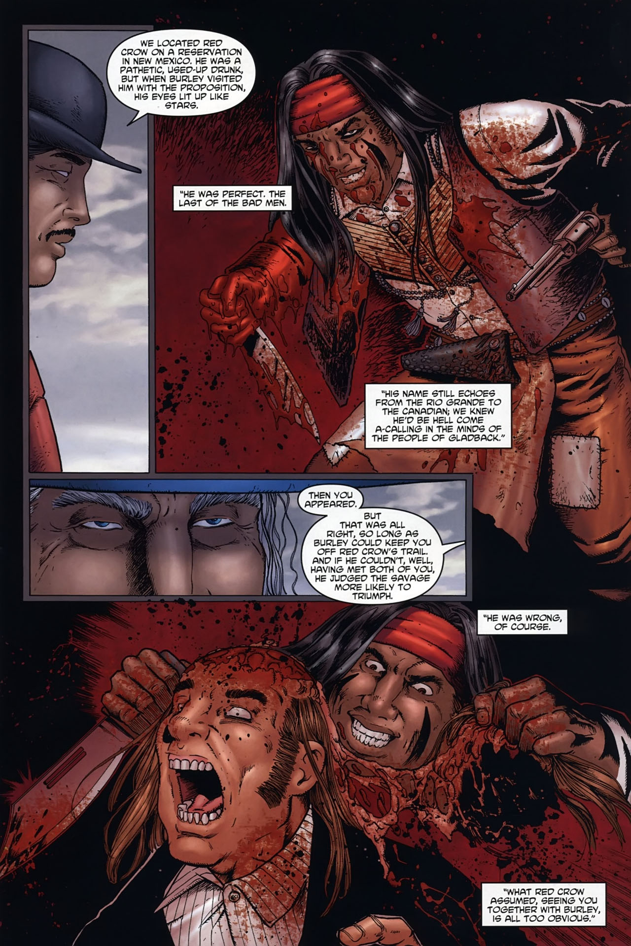 Read online Garth Ennis' Streets of Glory comic -  Issue #6 - 7