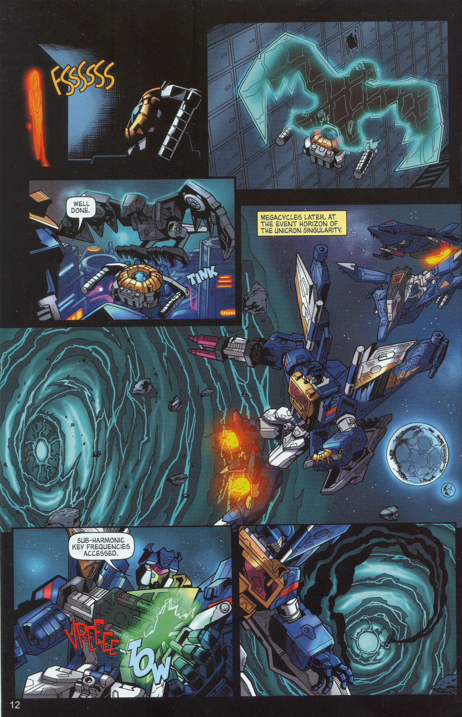 Read online Transformers: Collectors' Club comic -  Issue #9 - 12