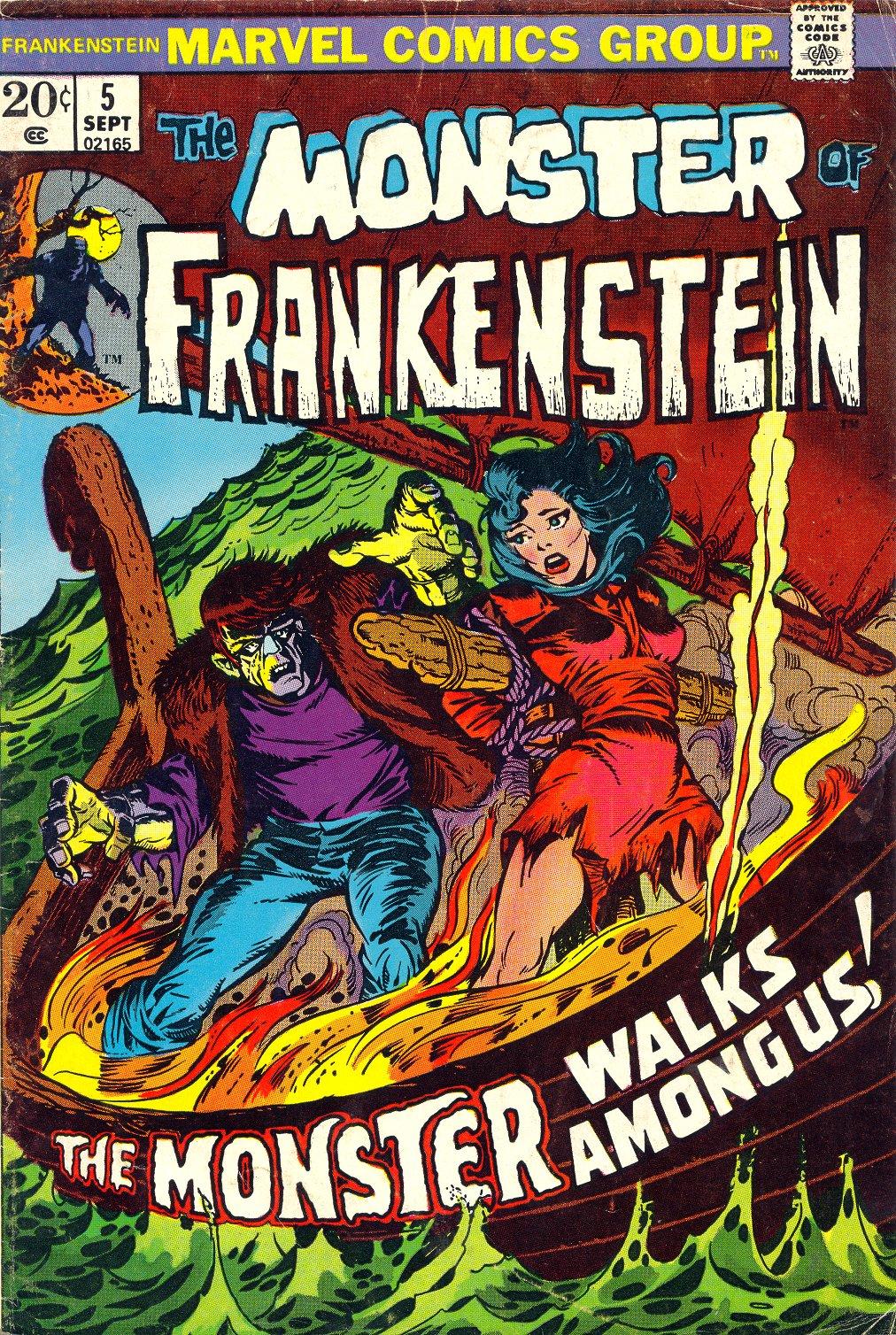 Frankenstein (1973) issue 5 - Page 1