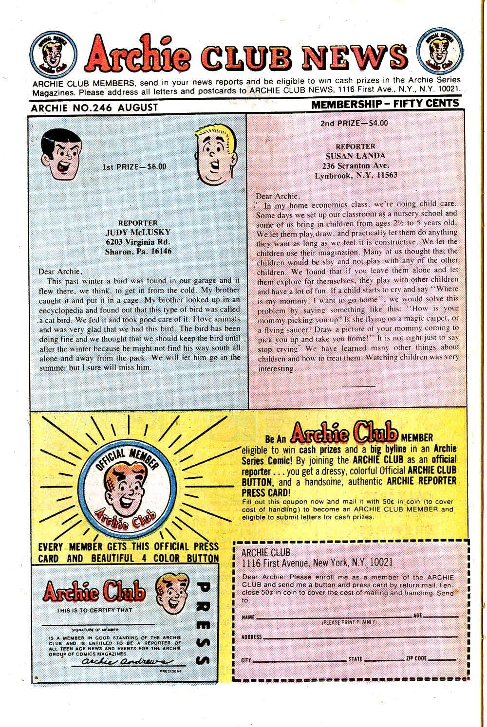 Read online Archie (1960) comic -  Issue #246 - 26
