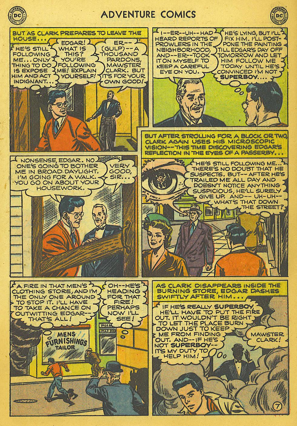 Read online Adventure Comics (1938) comic -  Issue #169 - 8