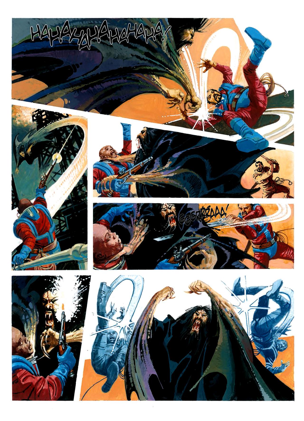Read online Nikolai Dante comic -  Issue # TPB 6 - 196