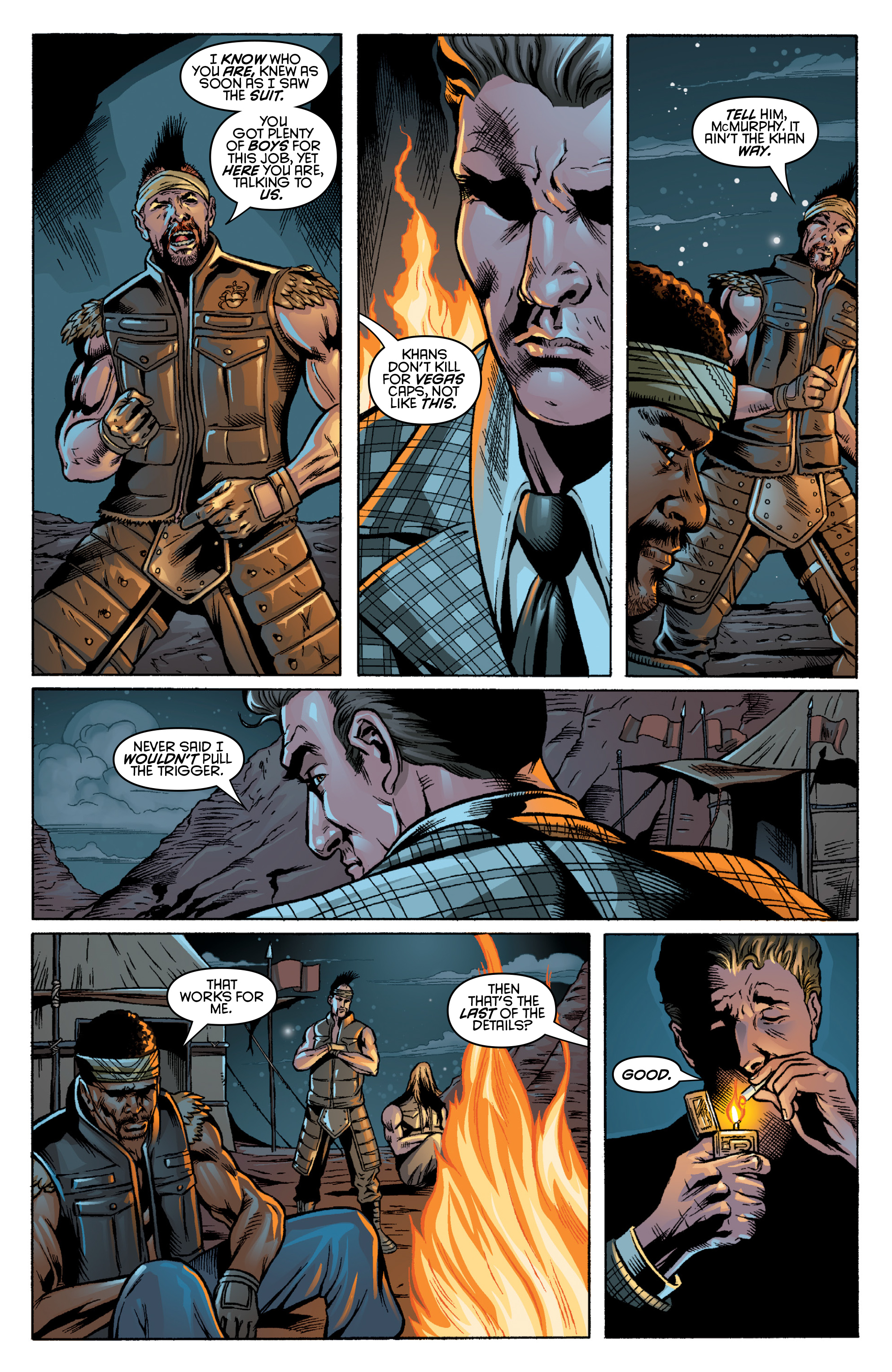 Read online Fallout: New Vegas-All Roads comic -  Issue # Full - 20