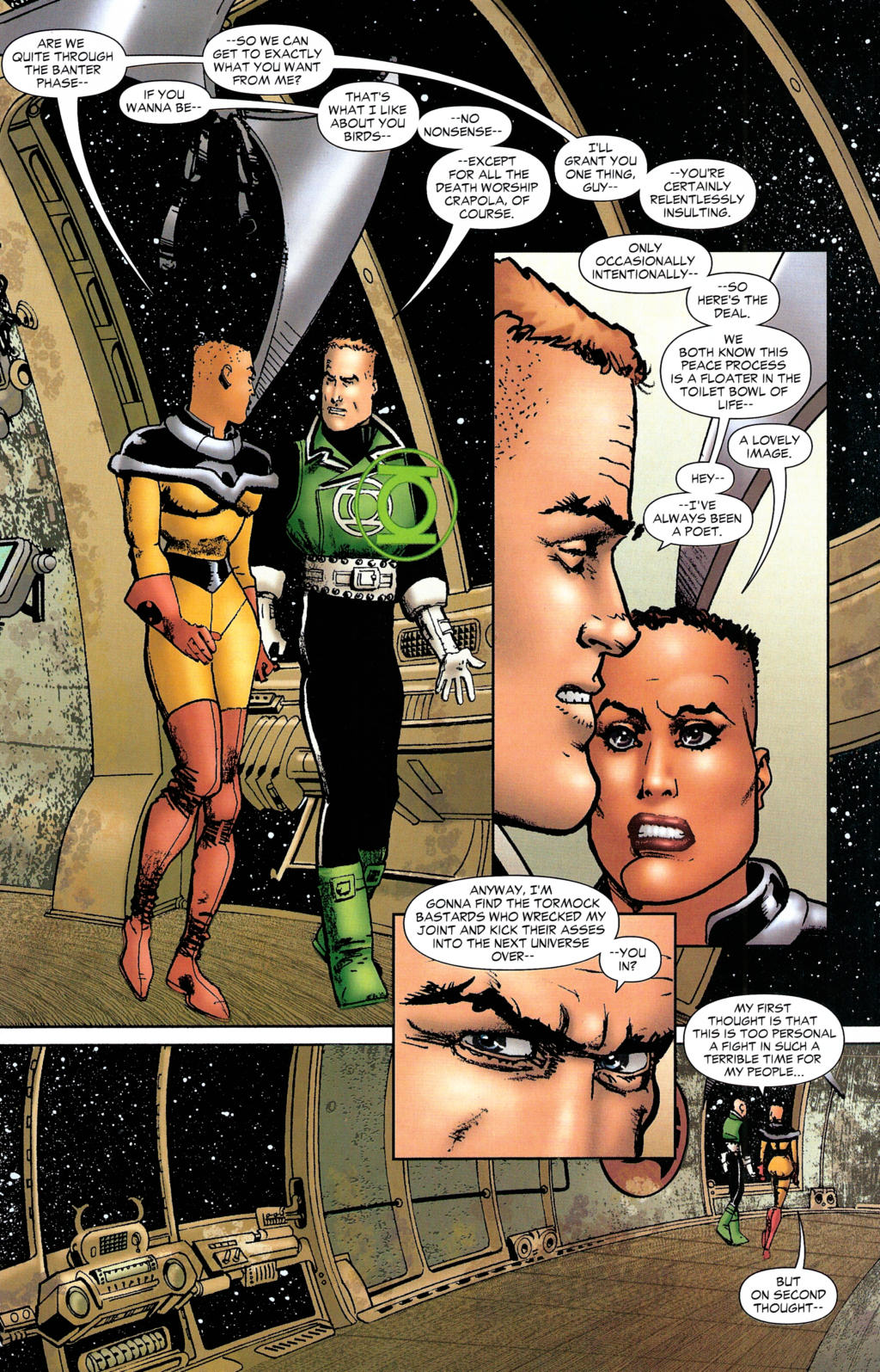 Read online Guy Gardner: Collateral Damage comic -  Issue #2 - 15