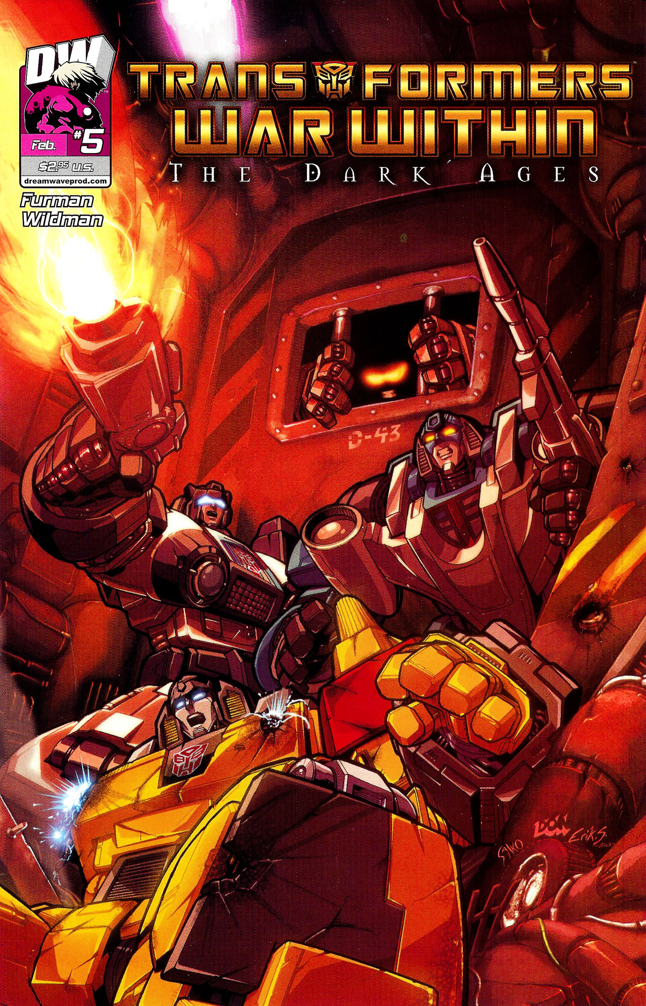 """Read online Transformers War Within: """"The Dark Ages"""" comic -  Issue #5 - 1"""