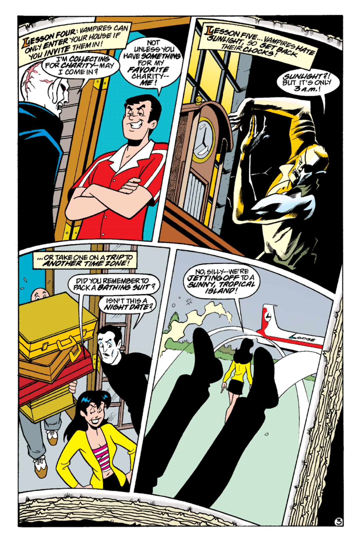 Read online Archie's Weird Mysteries comic -  Issue #15 - 21