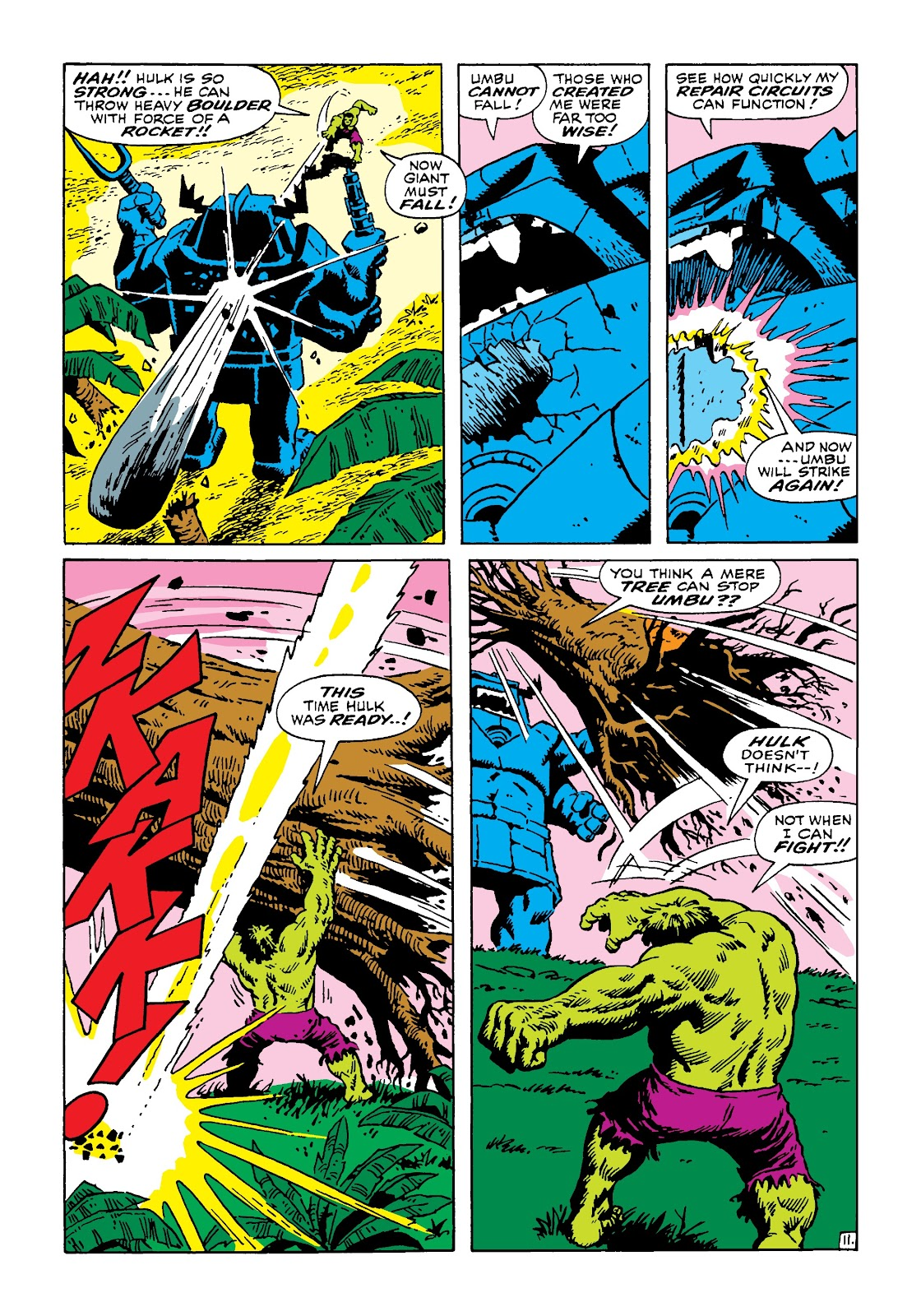 Read online Marvel Masterworks: The Incredible Hulk comic -  Issue # TPB 4 (Part 3) - 18