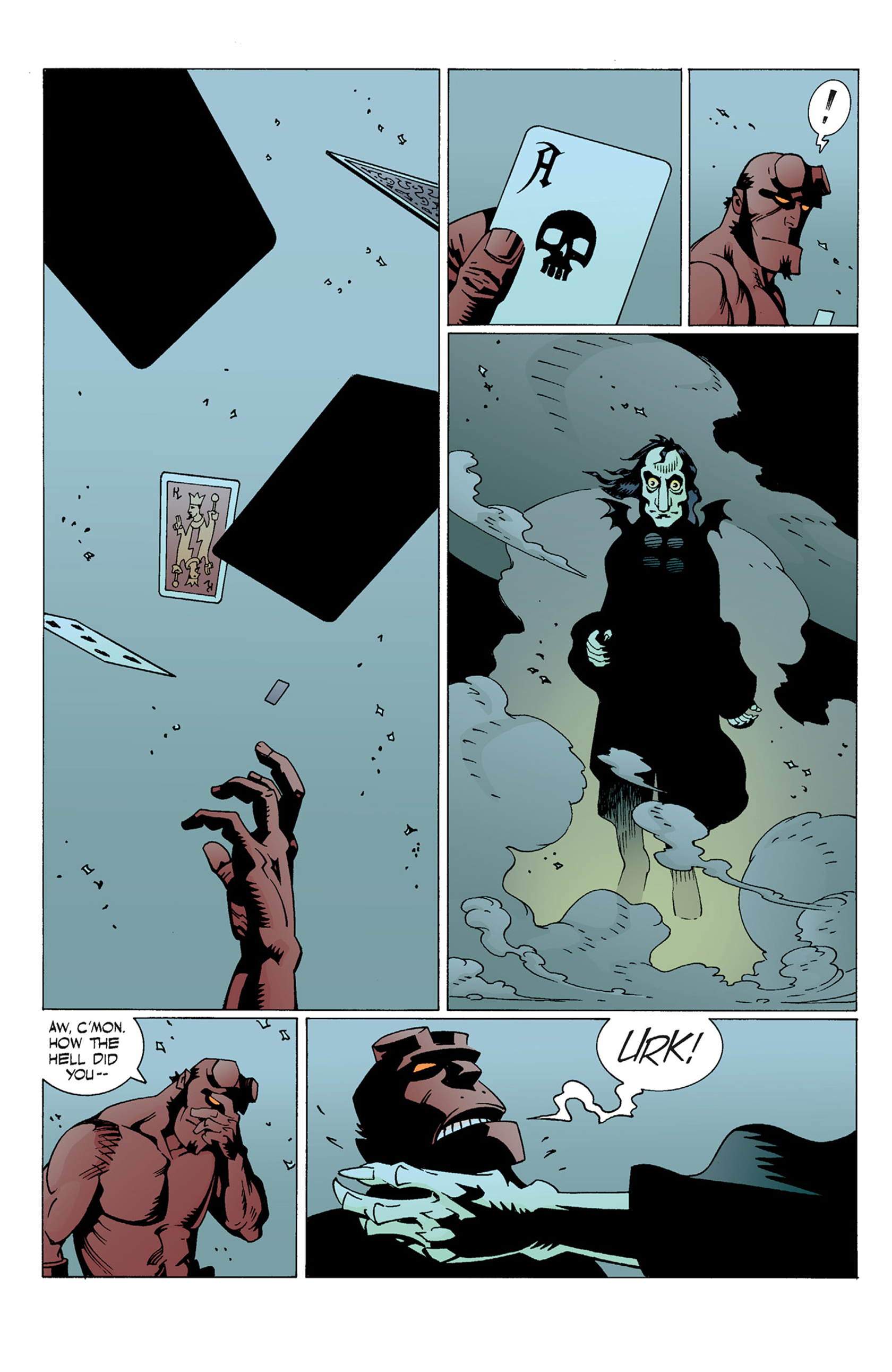 Read online Hellboy: The Troll Witch and Others comic -  Issue # TPB - 44