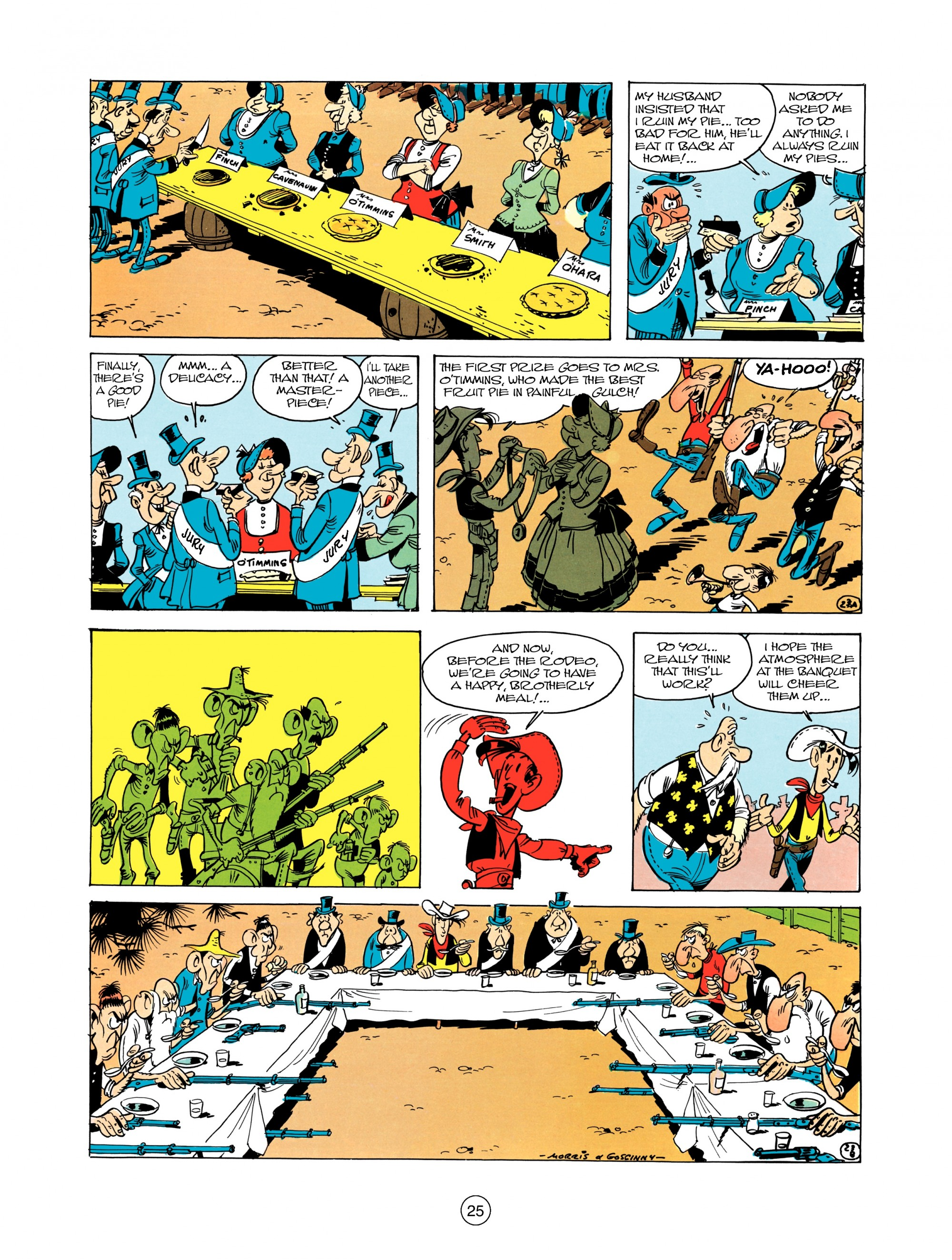 Read online A Lucky Luke Adventure comic -  Issue #12 - 25