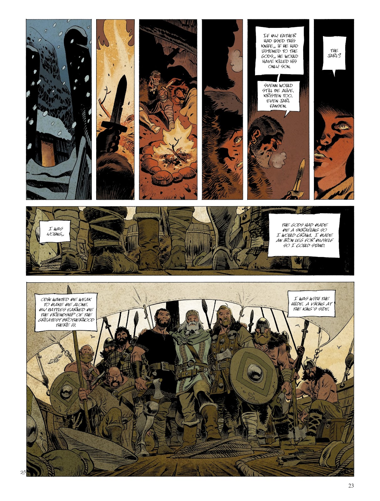 Read online Asgard comic -  Issue #2 - 25