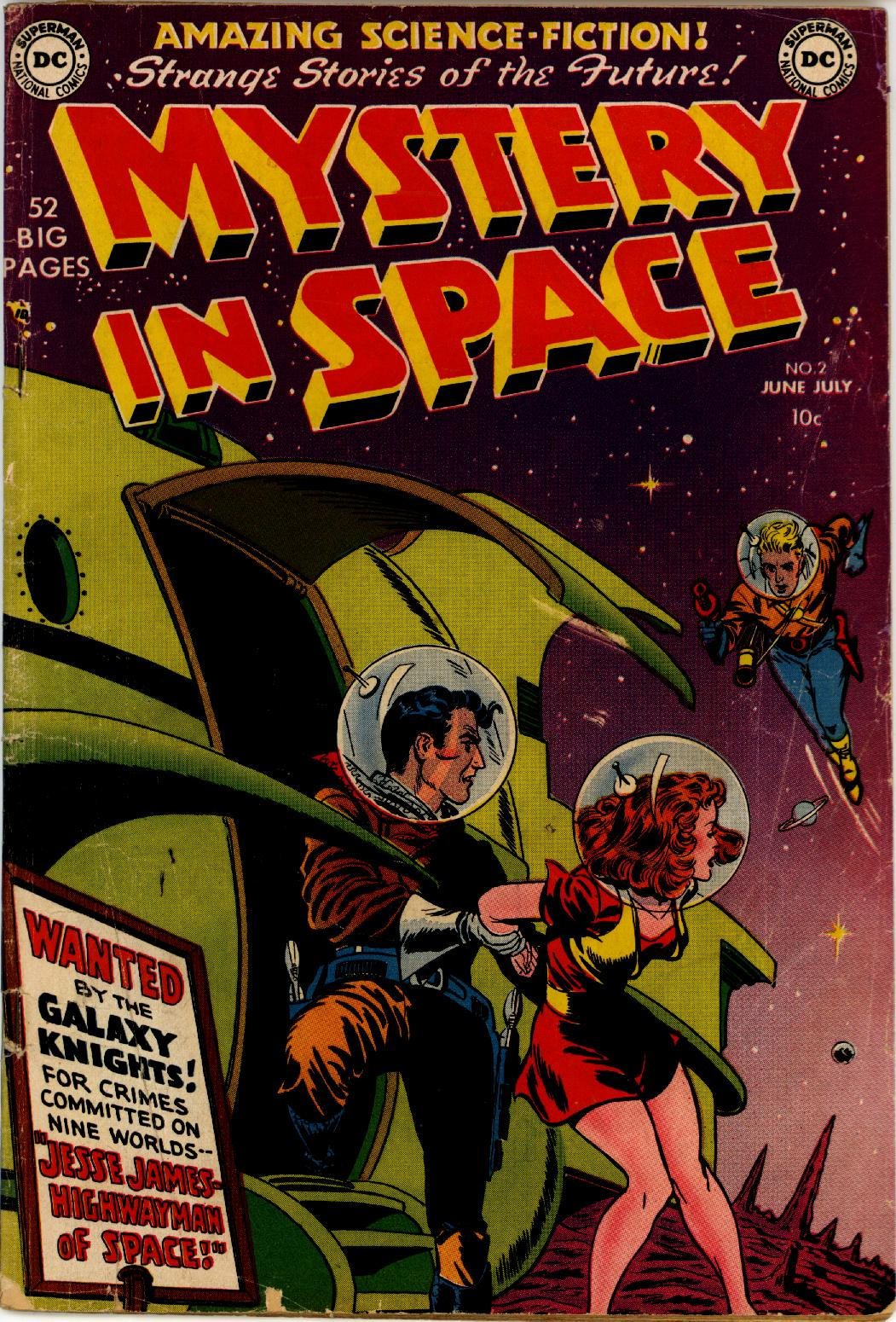 Mystery in Space (1951) issue 2 - Page 1