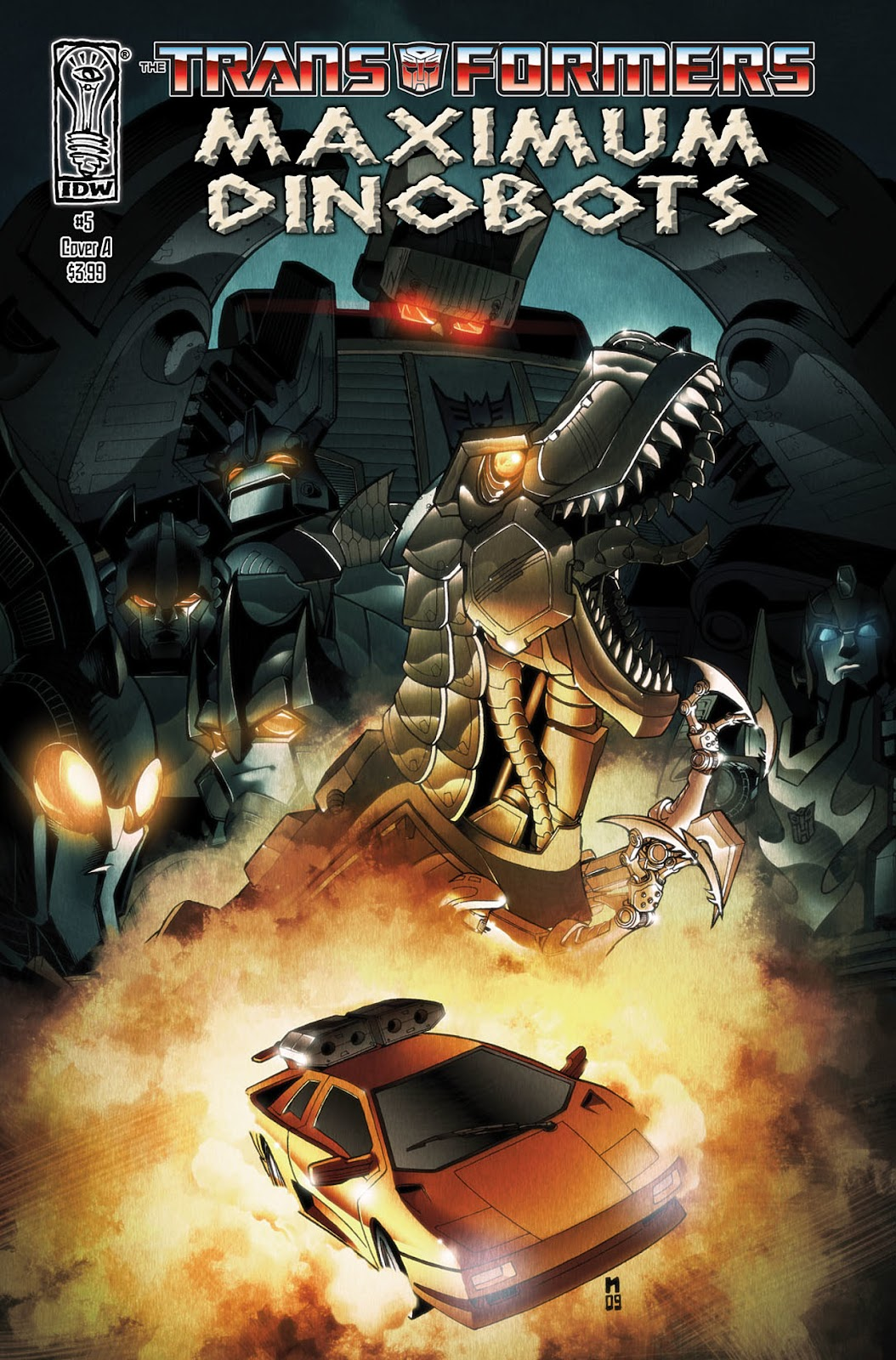 The Transformers: Maximum Dinobots issue 5 - Page 1