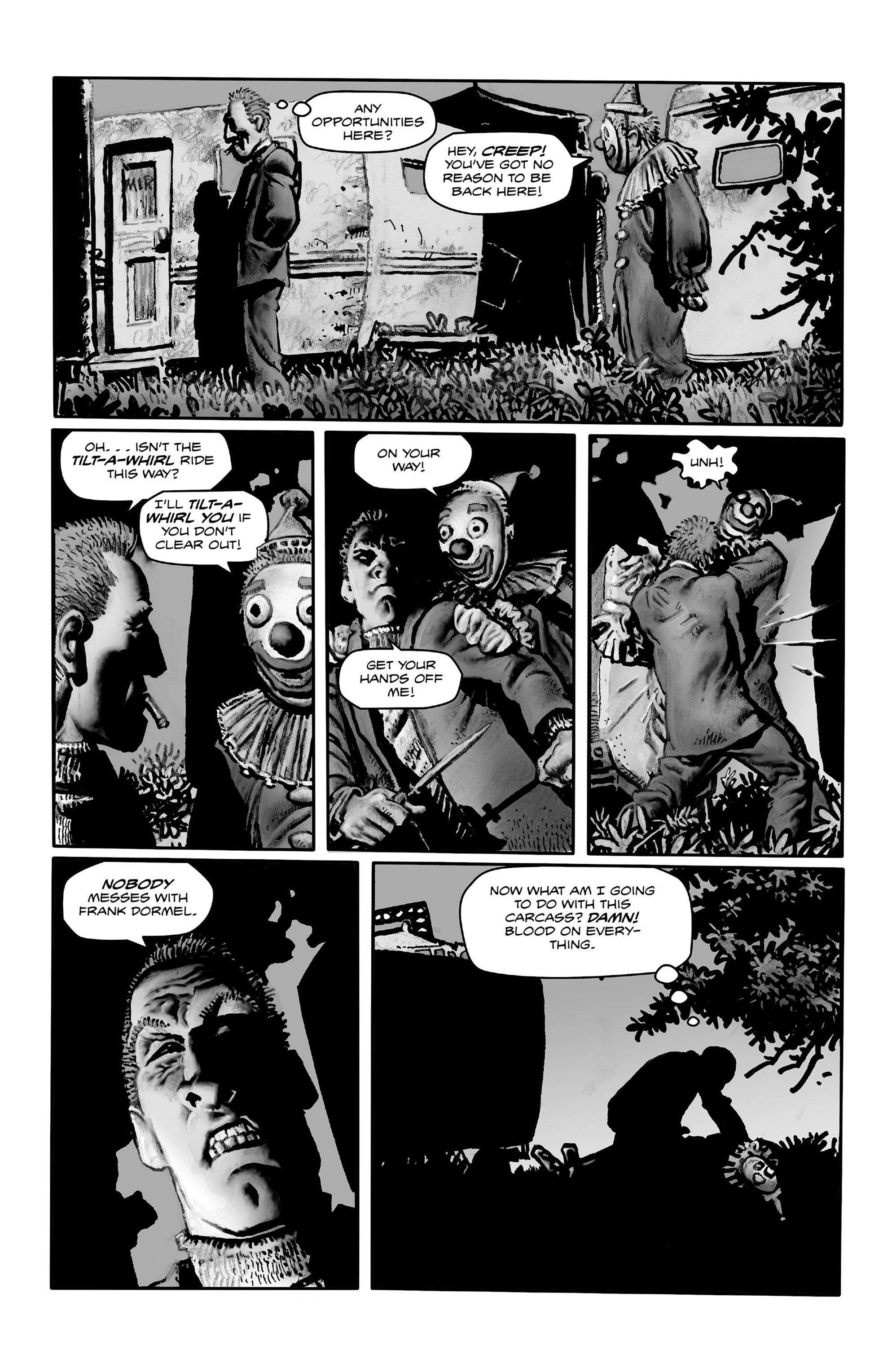 Read online Shadows on the Grave comic -  Issue #4 - 5