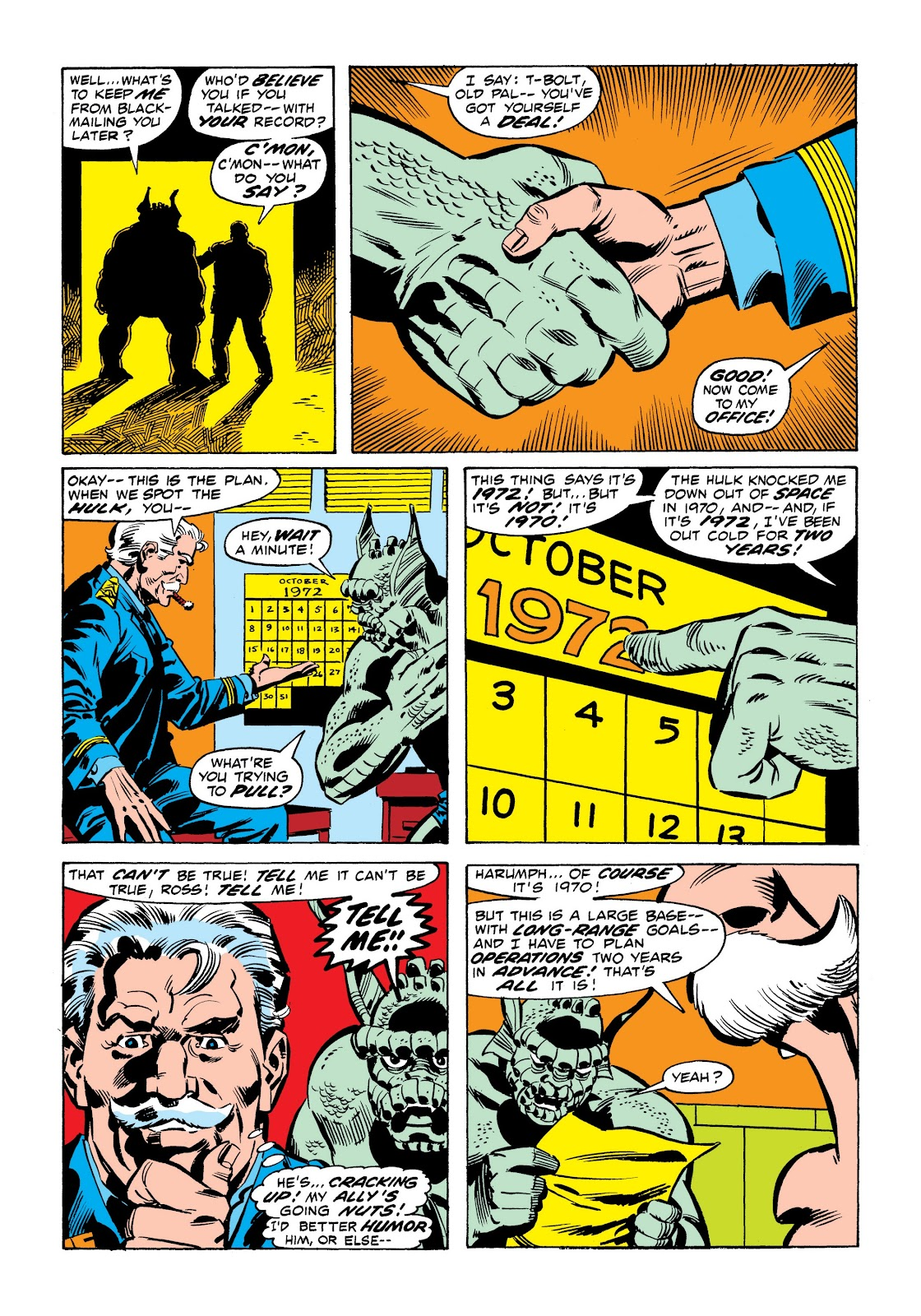 Read online Marvel Masterworks: The Incredible Hulk comic -  Issue # TPB 9 (Part 1) - 64