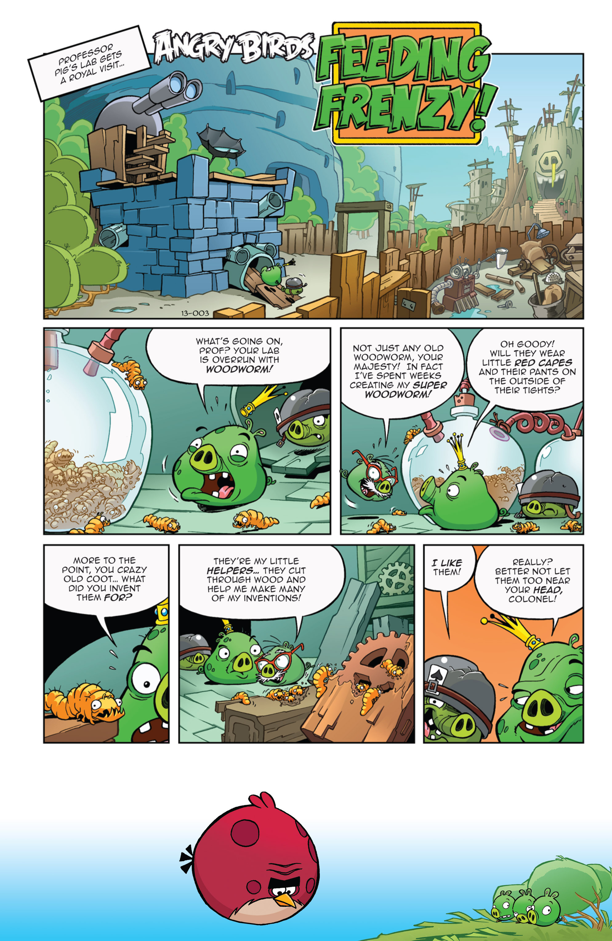 Read online Angry Birds Comics (2014) comic -  Issue #9 - 17