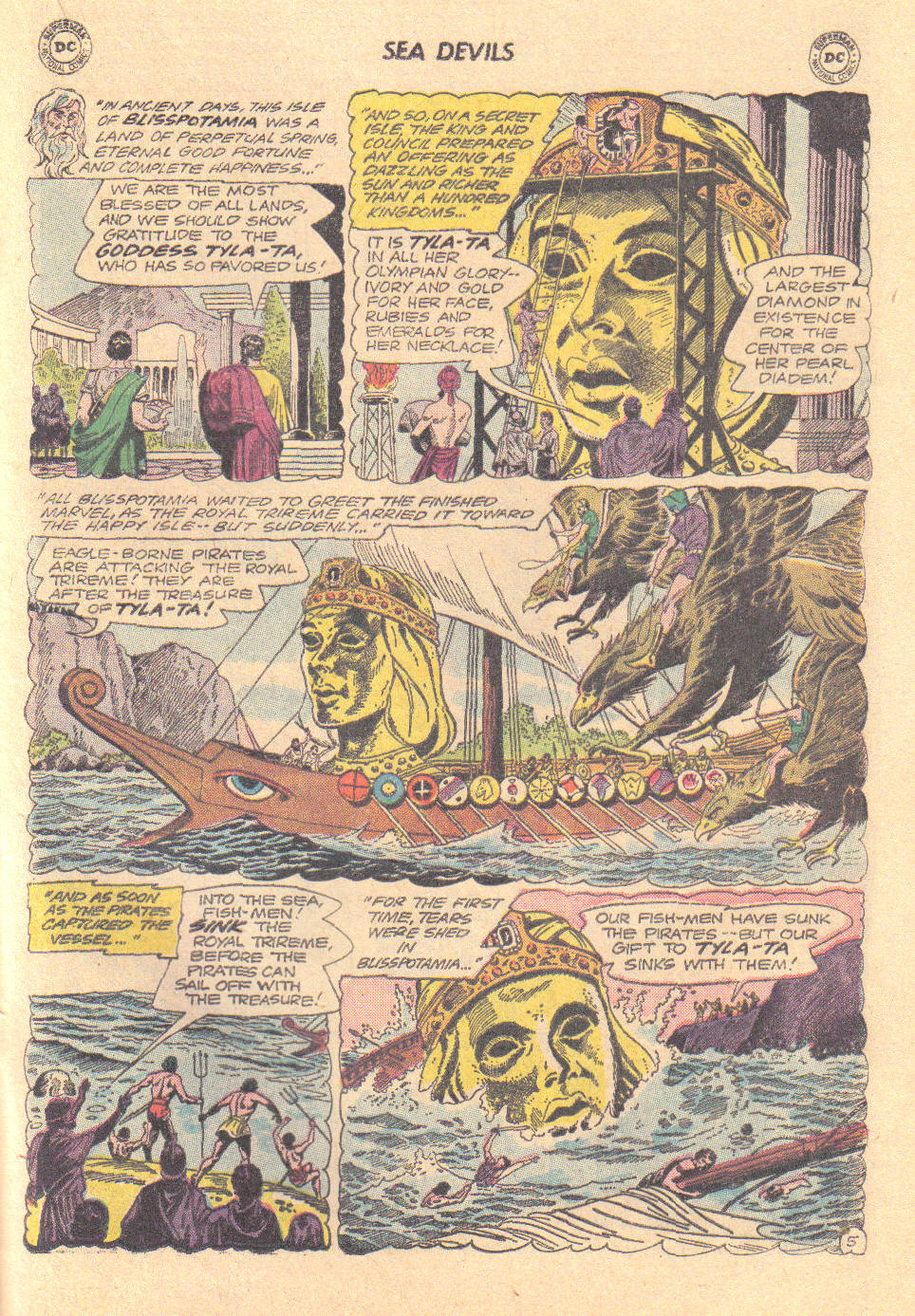 Read online Sea Devils comic -  Issue #16 - 21
