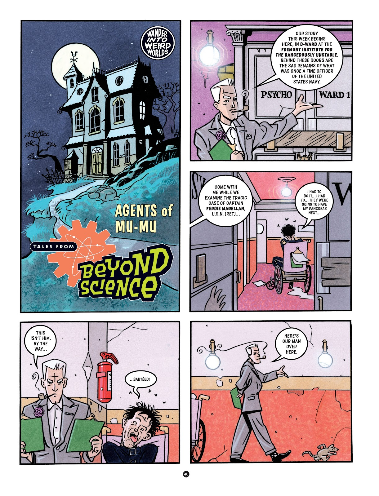 Read online Tales from Beyond Science comic -  Issue # TPB - 41