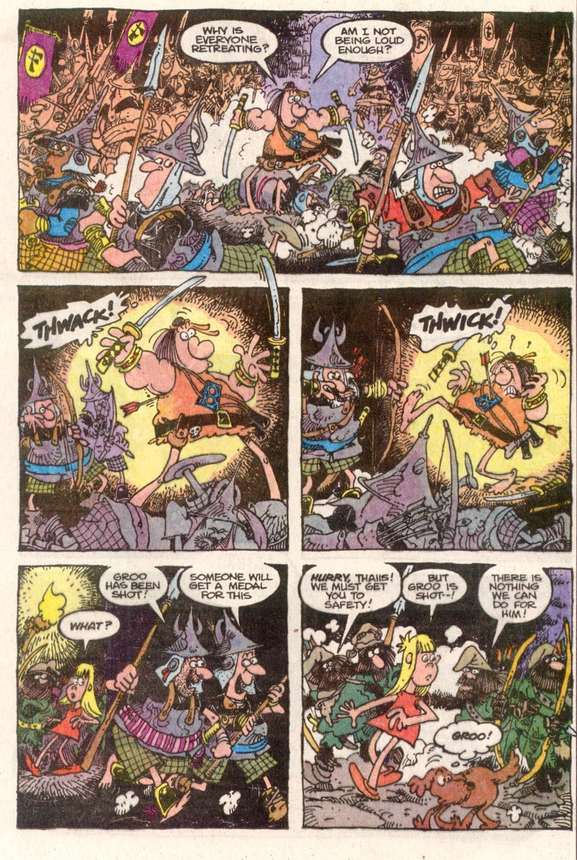 Read online Sergio Aragonés Groo the Wanderer comic -  Issue #82 - 17