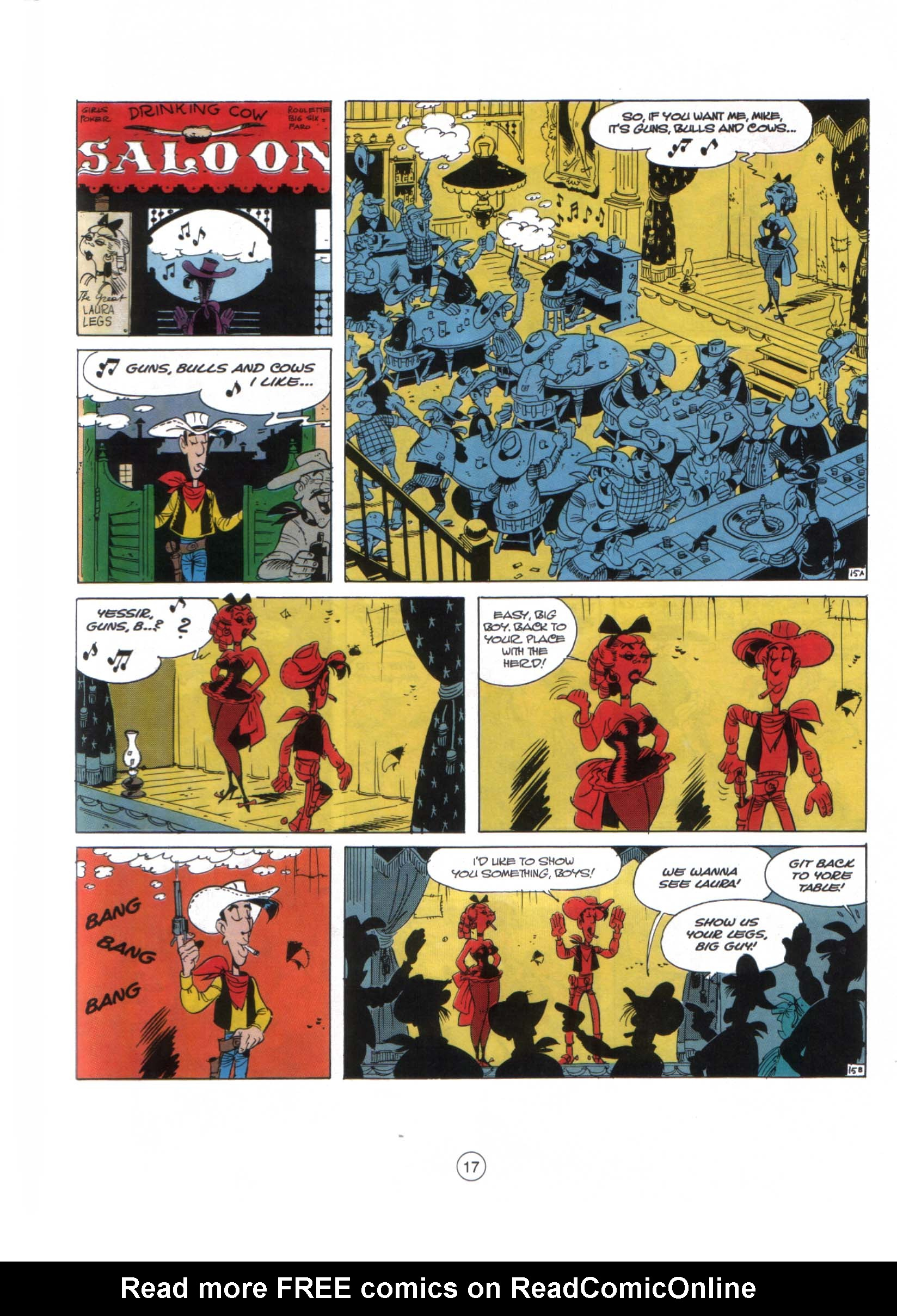 Read online A Lucky Luke Adventure comic -  Issue #29 - 16