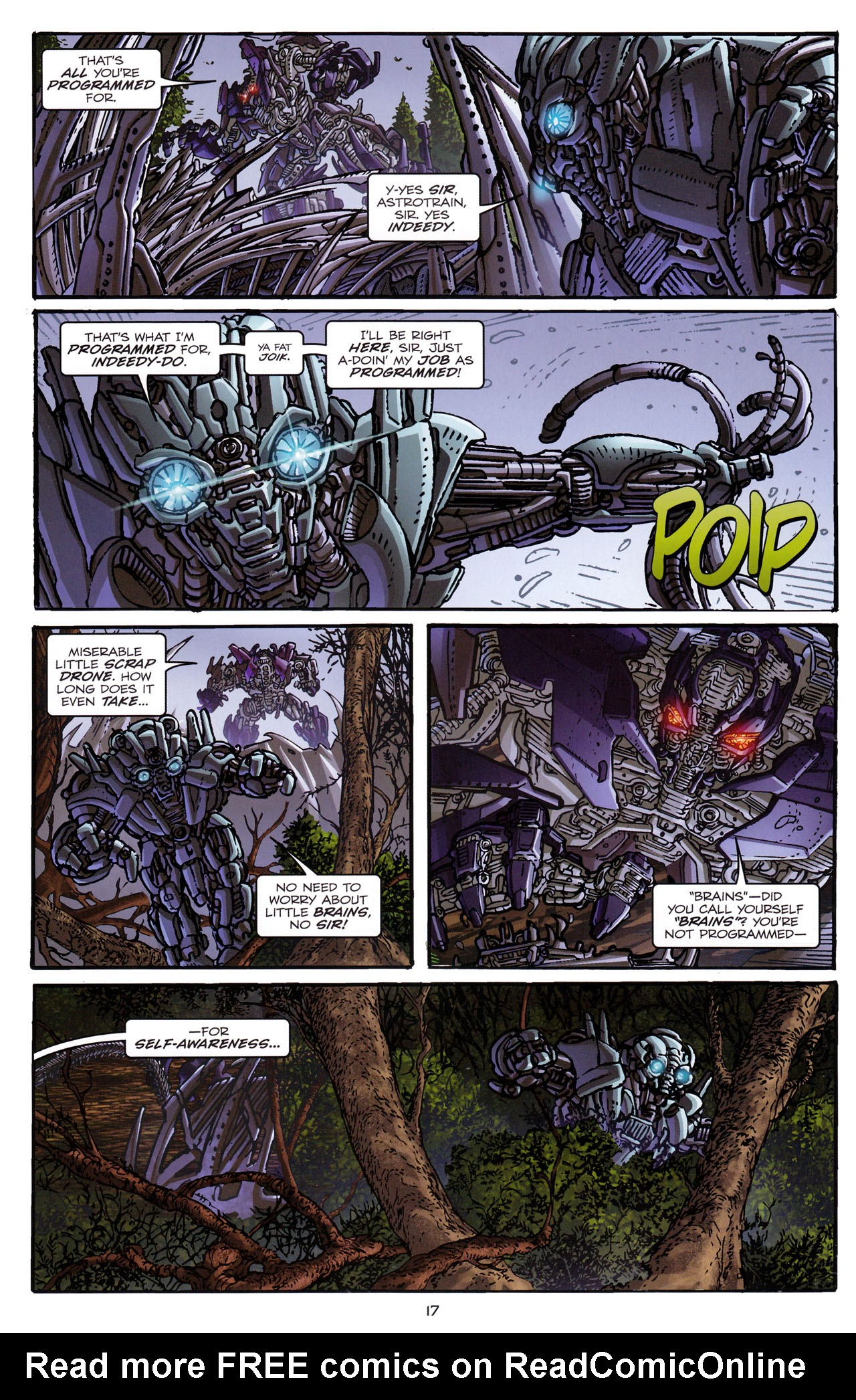 Read online Transformers: Dark of the Moon Rising Storm comic -  Issue #1 - 20