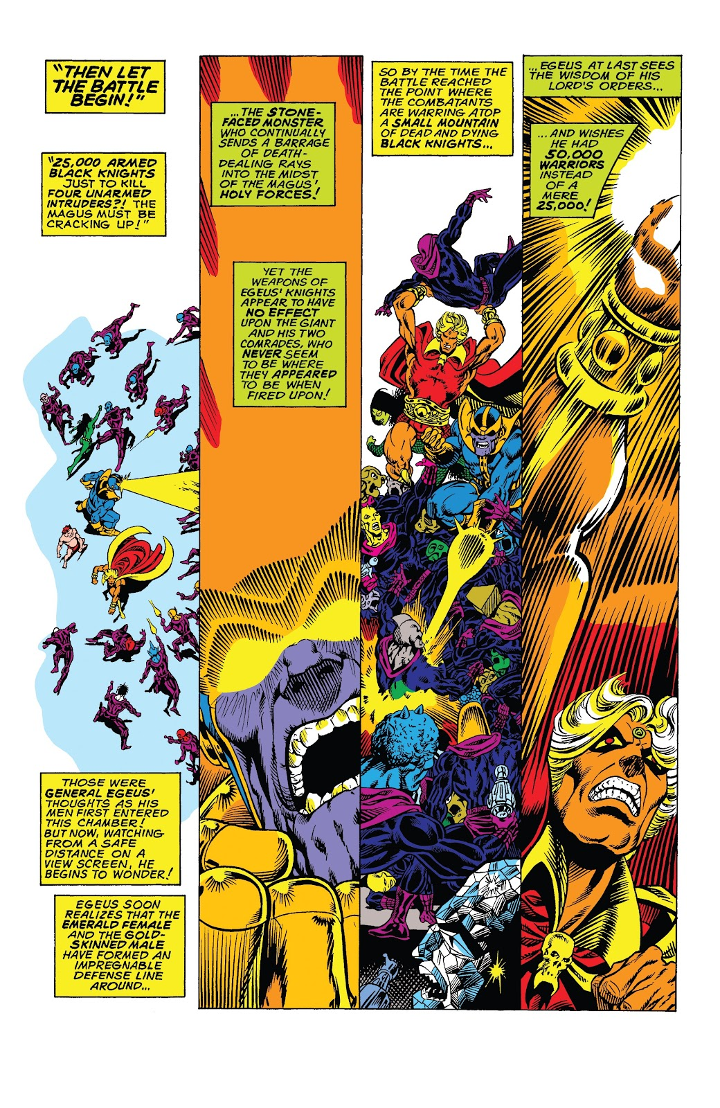 Read online Marvel Tales: Thanos comic -  Issue # Full - 8