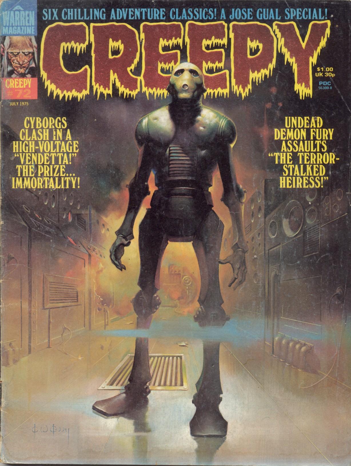 Creepy (1964) 72 Page 1