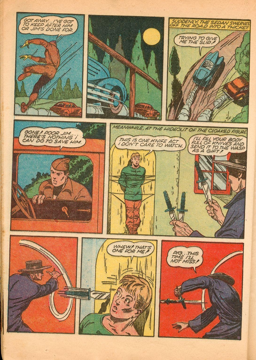 Read online Shadow Comics comic -  Issue #11 - 46