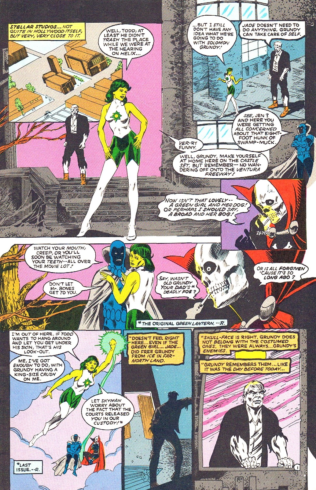 Infinity Inc. (1984) issue 39 - Page 3