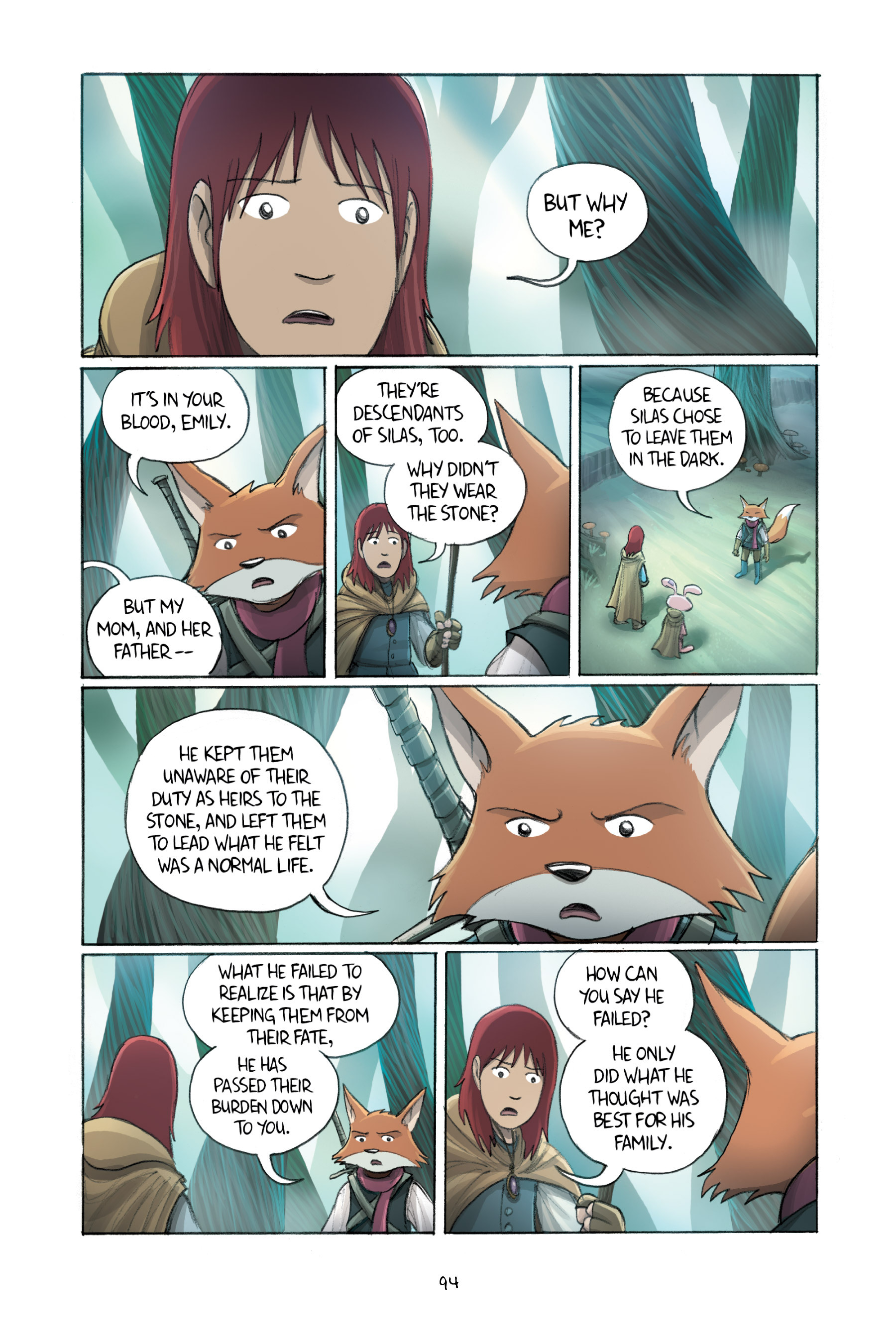 Read online Amulet comic -  Issue #2 - 94