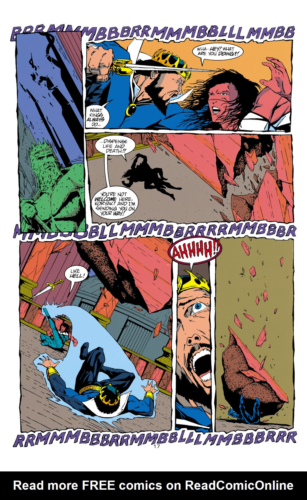 Read online Aquaman (1994) comic -  Issue #10 - 18