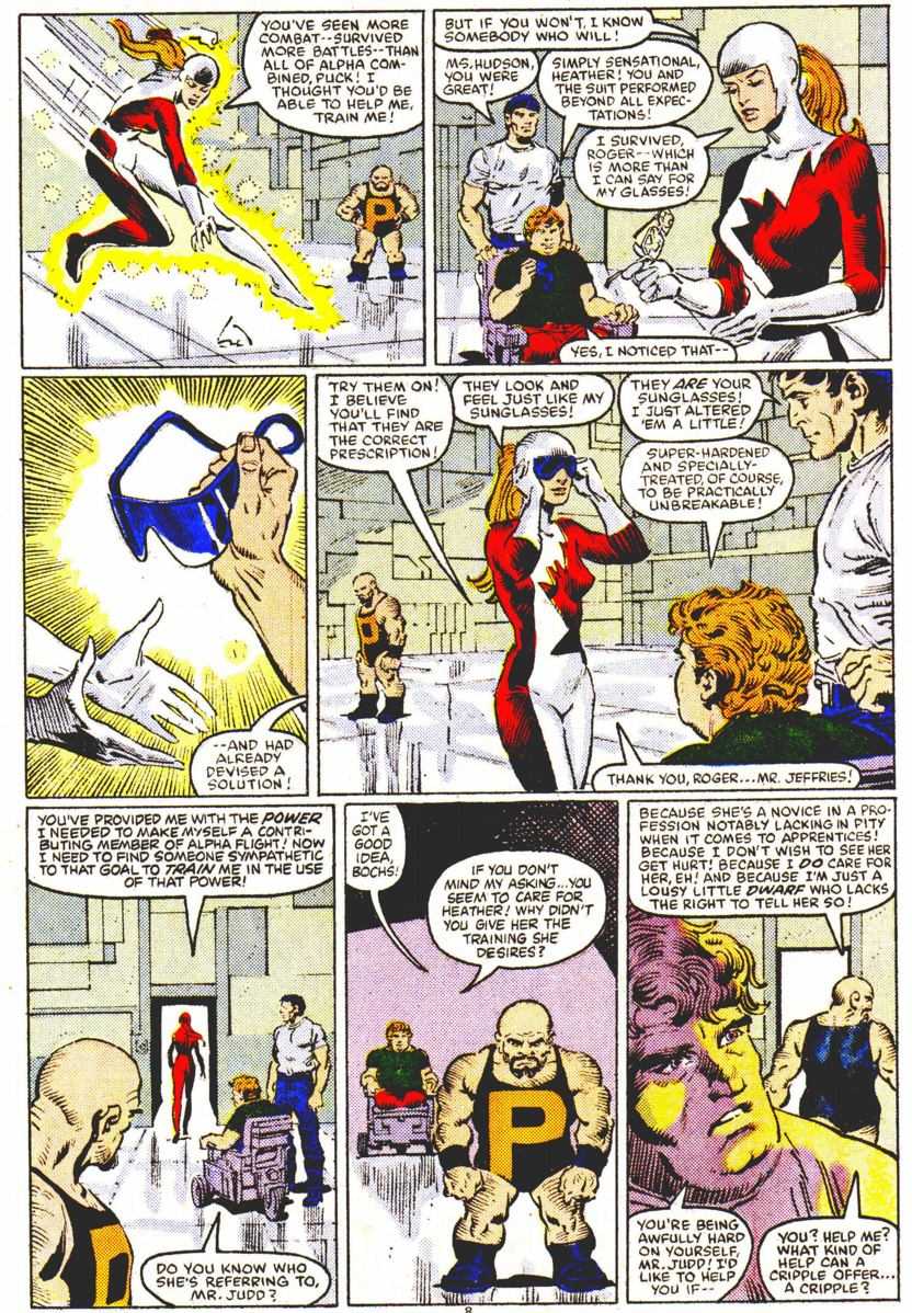 Read online Alpha Flight (1983) comic -  Issue #32 - 9