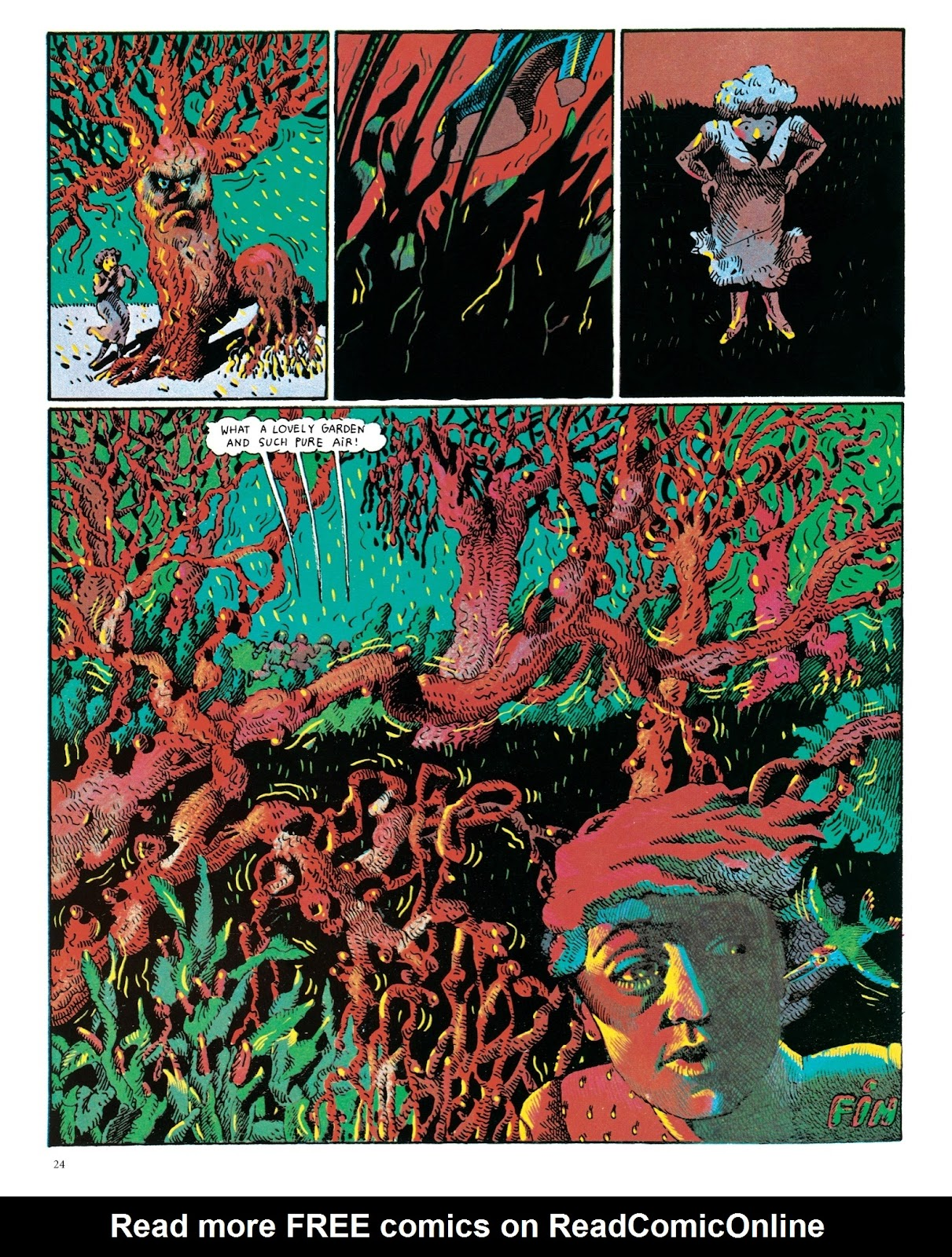 Read online The Green Hand and Other Stories comic -  Issue # TPB - 23